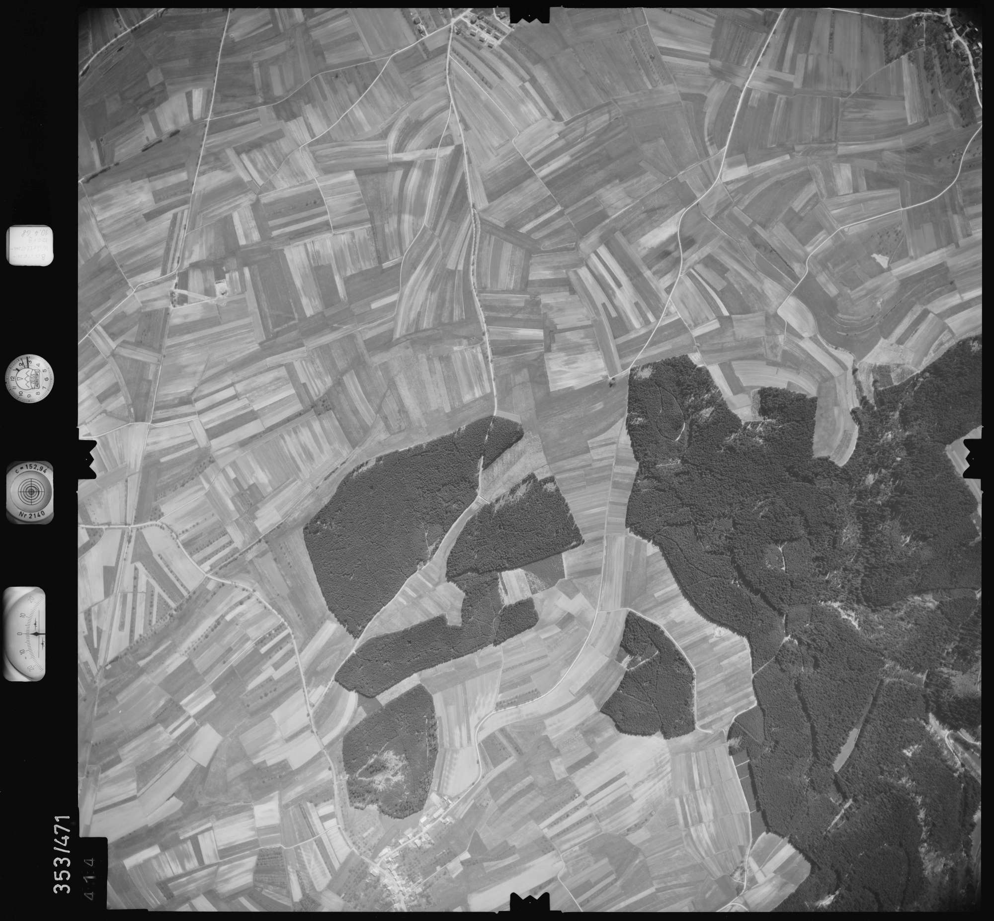 Luftbild: Film 41 Bildnr. 414, Bild 1