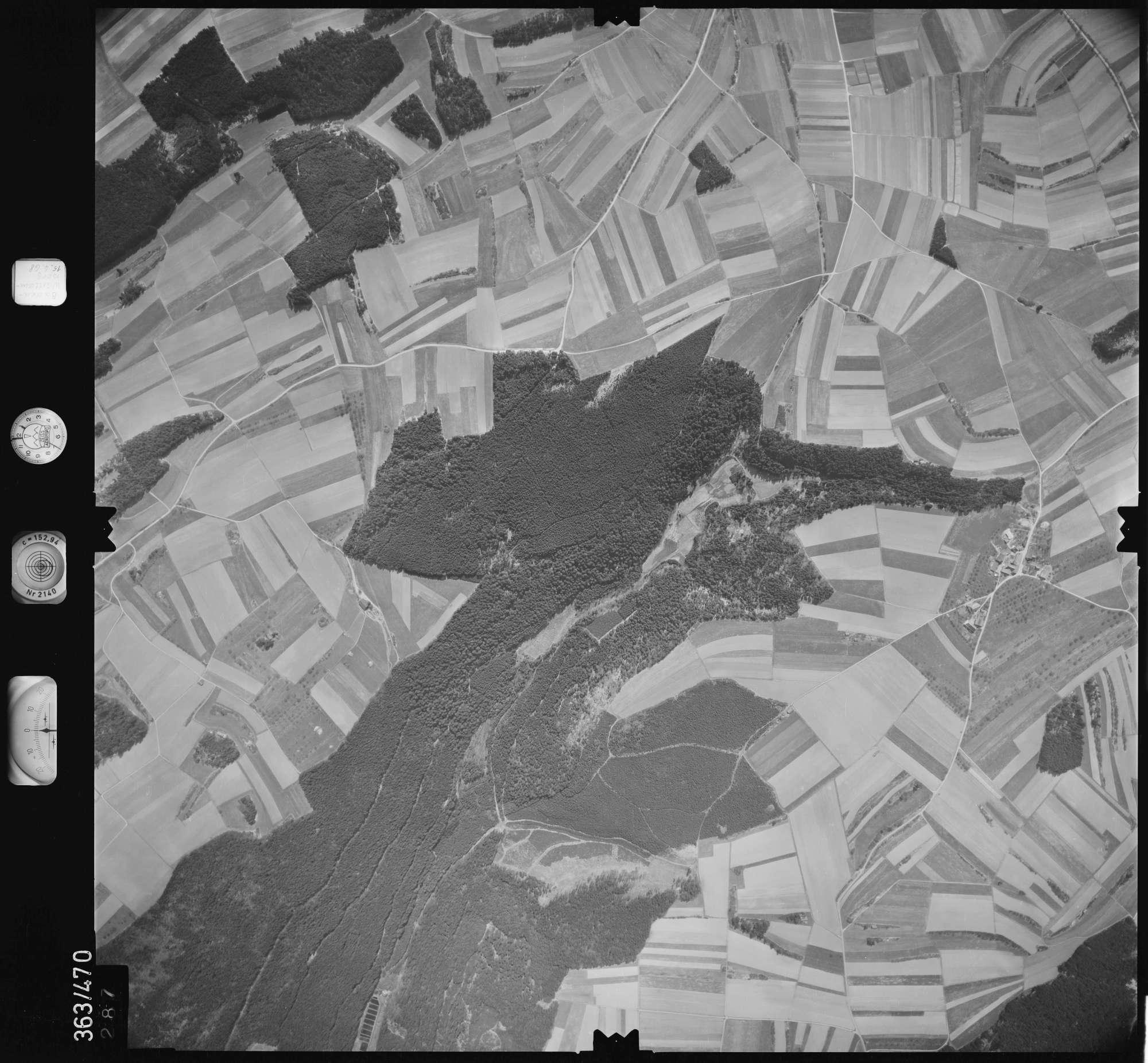 Luftbild: Film 45 Bildnr. 287, Bild 1