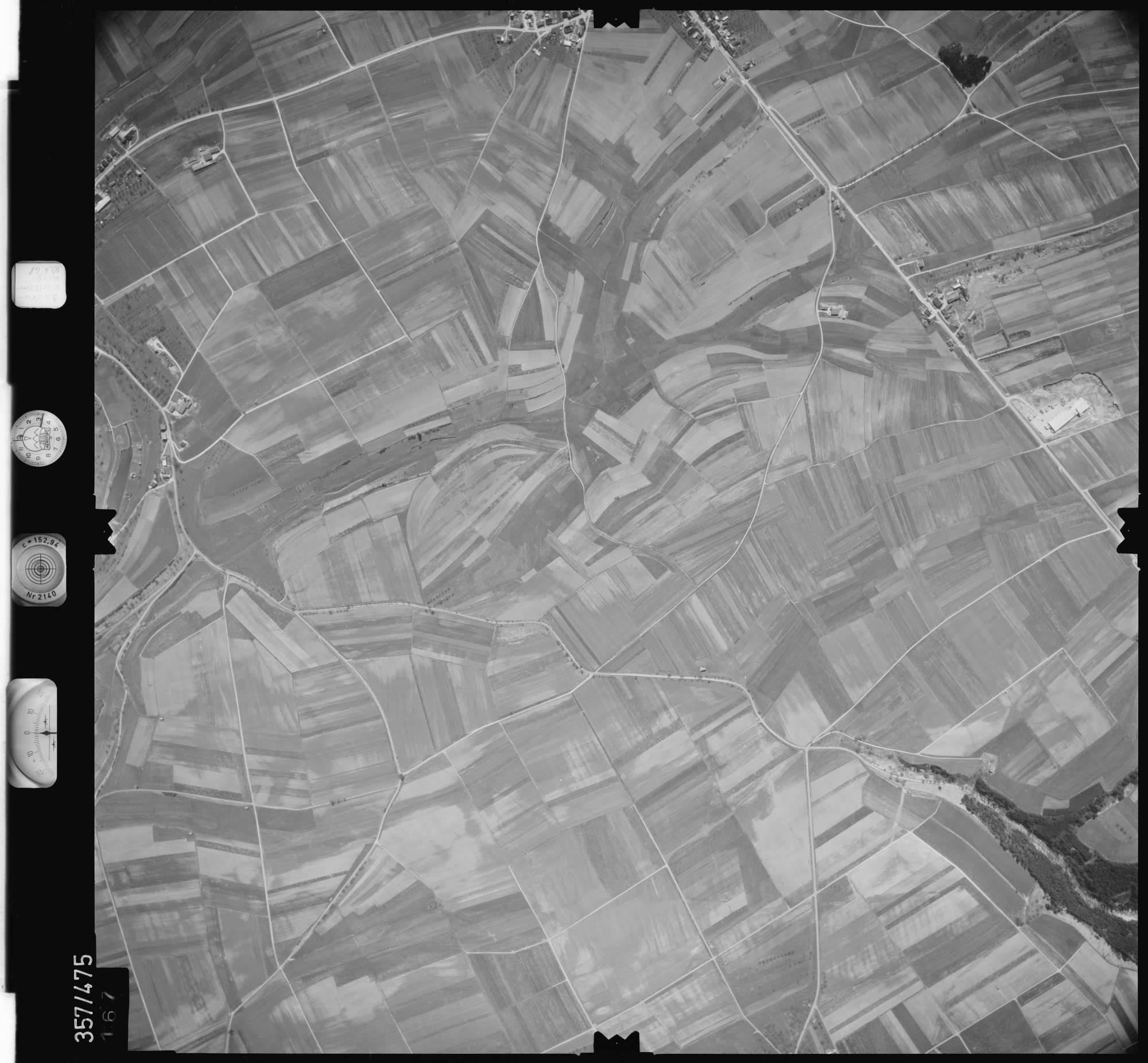 Luftbild: Film 38 Bildnr. 167, Bild 1