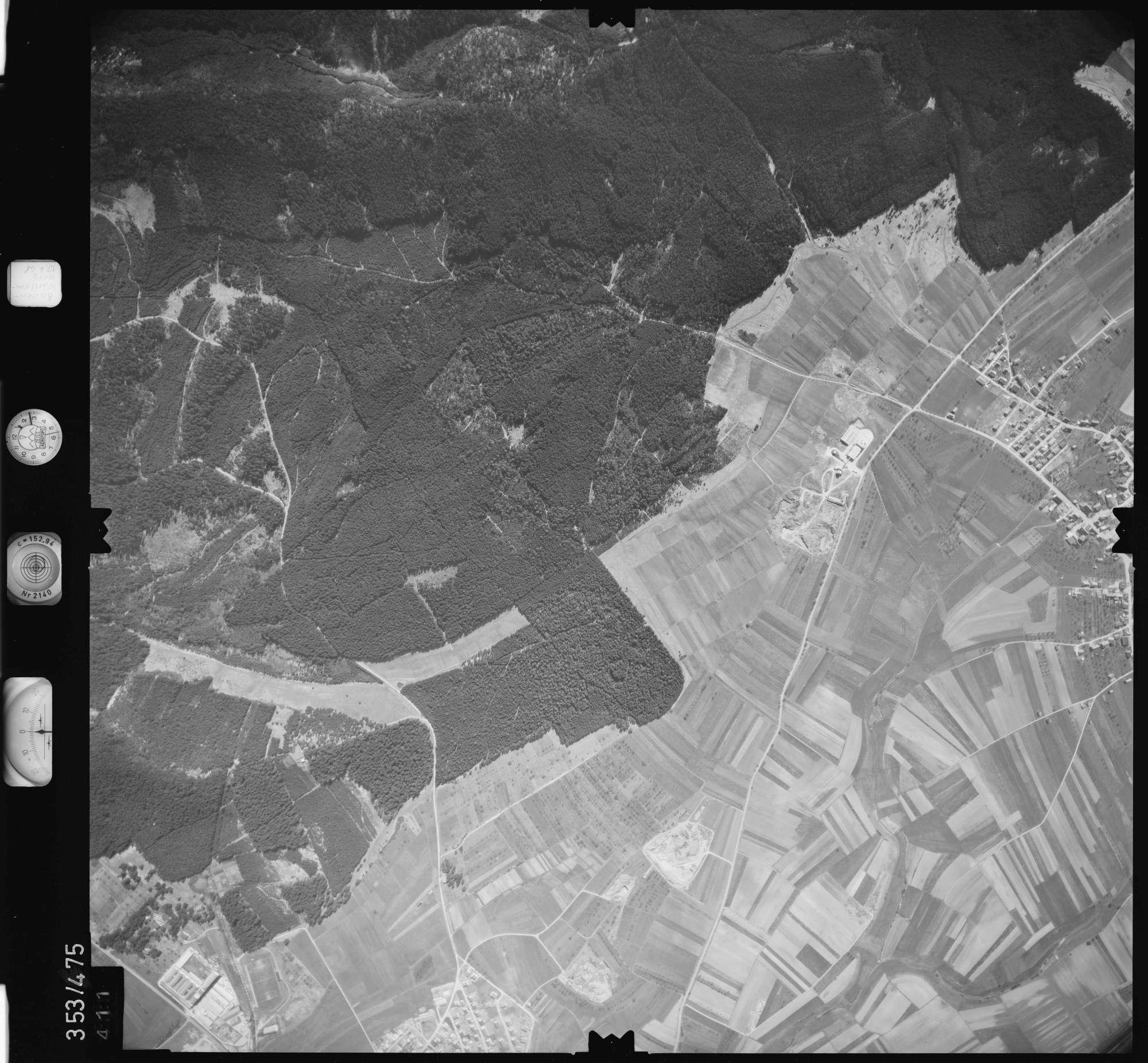 Luftbild: Film 41 Bildnr. 411, Bild 1