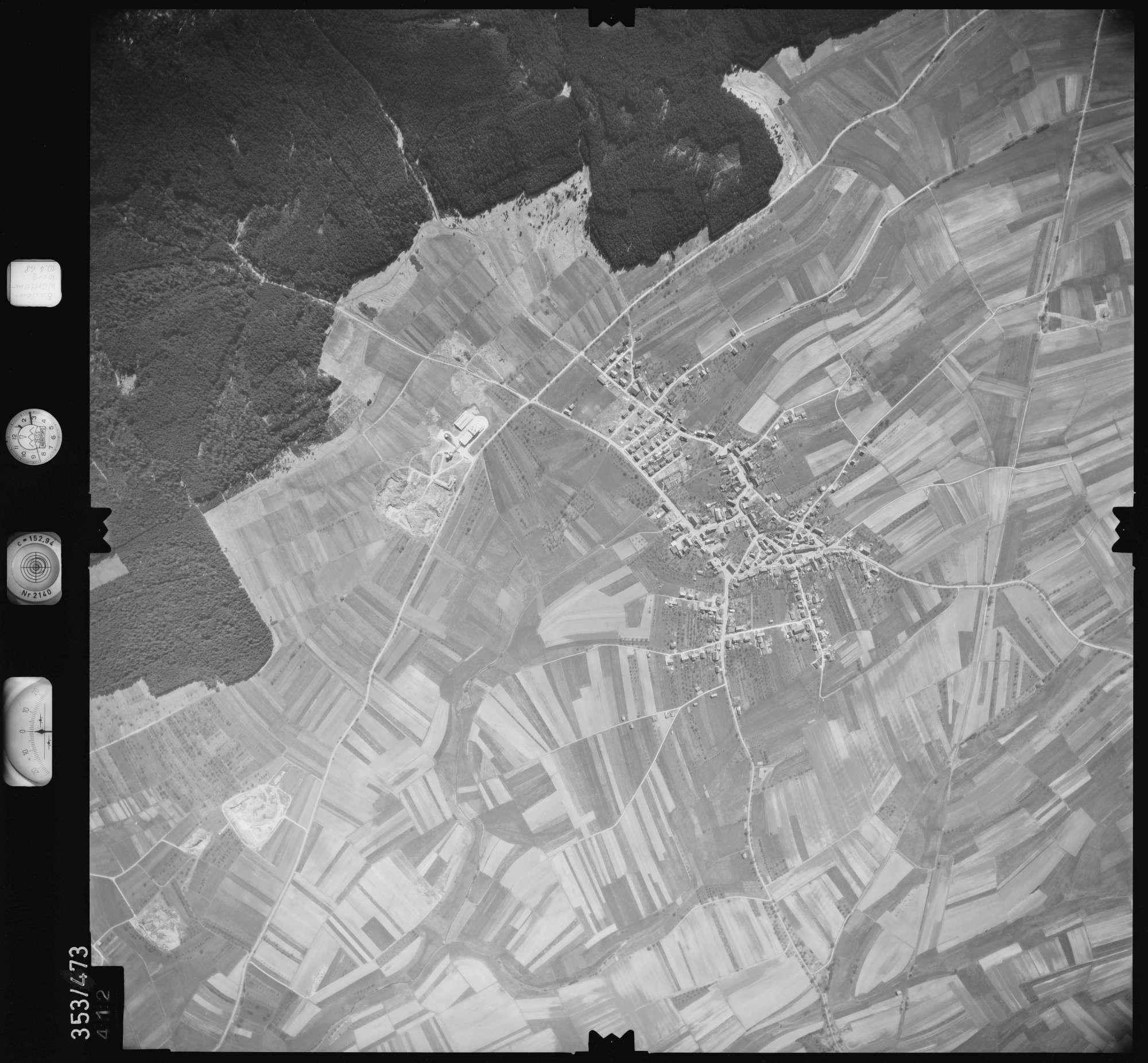 Luftbild: Film 41 Bildnr. 412, Bild 1