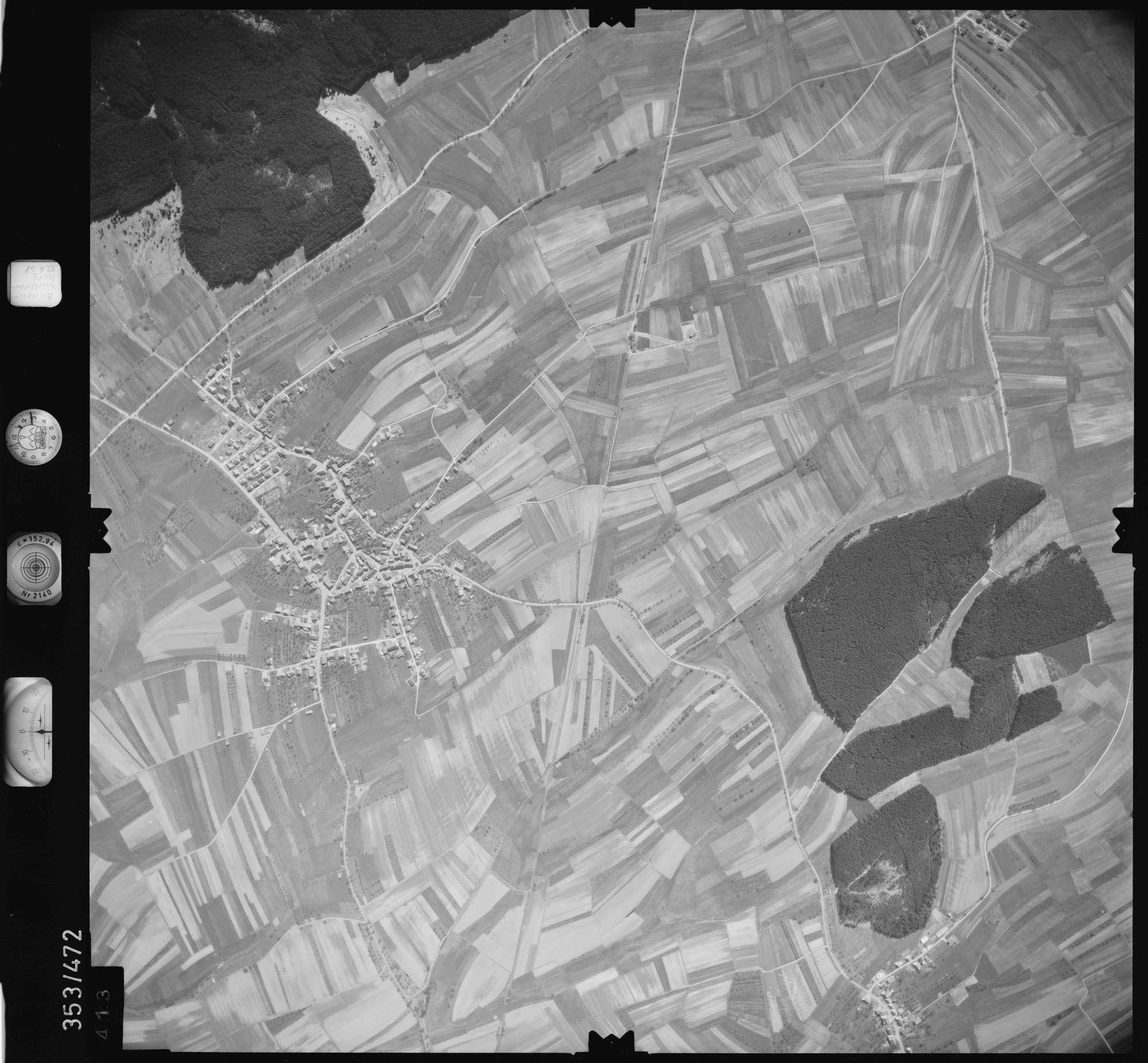 Luftbild: Film 41 Bildnr. 413, Bild 1