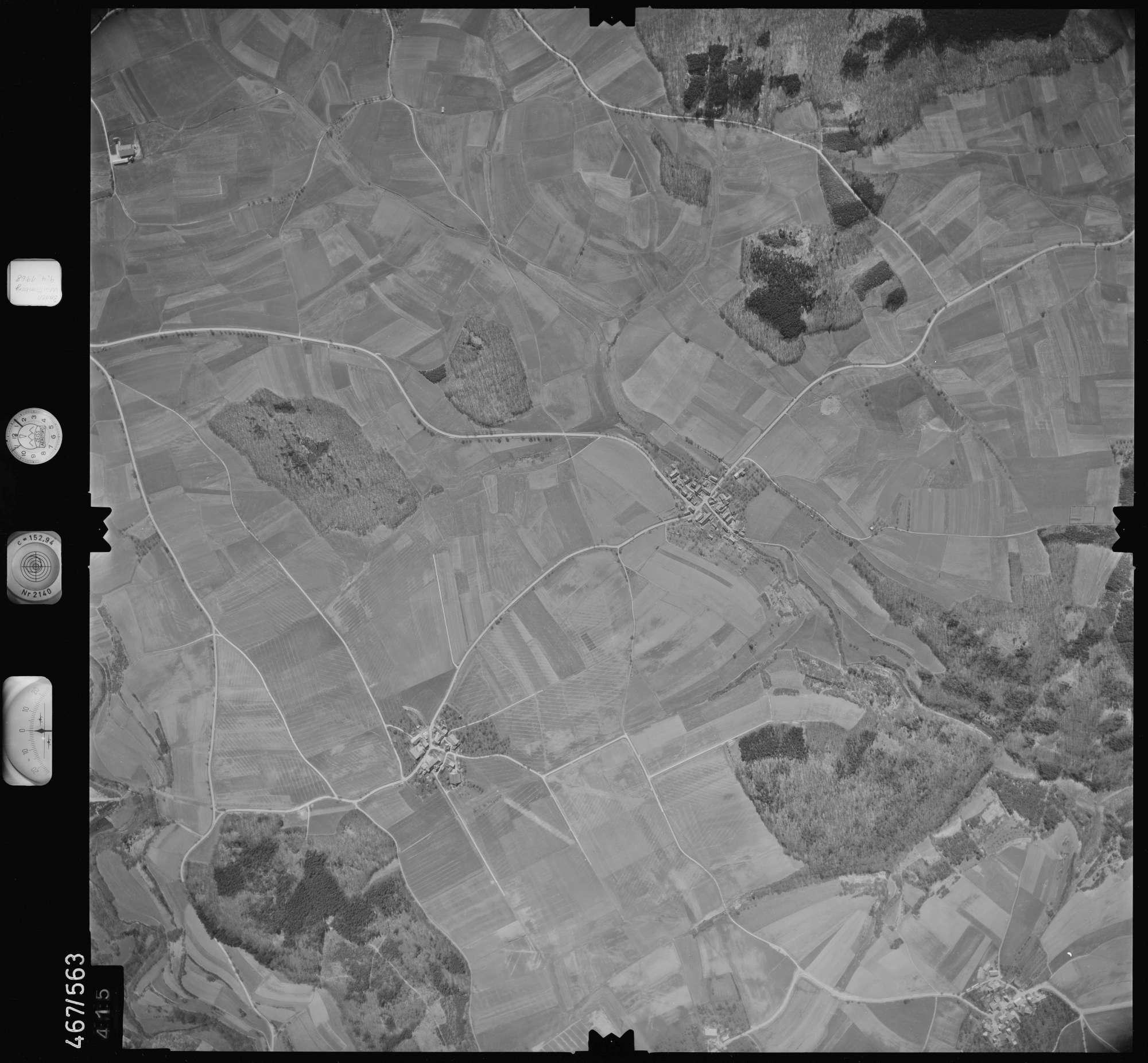 Luftbild: Film 101 Bildnr. 415, Bild 1