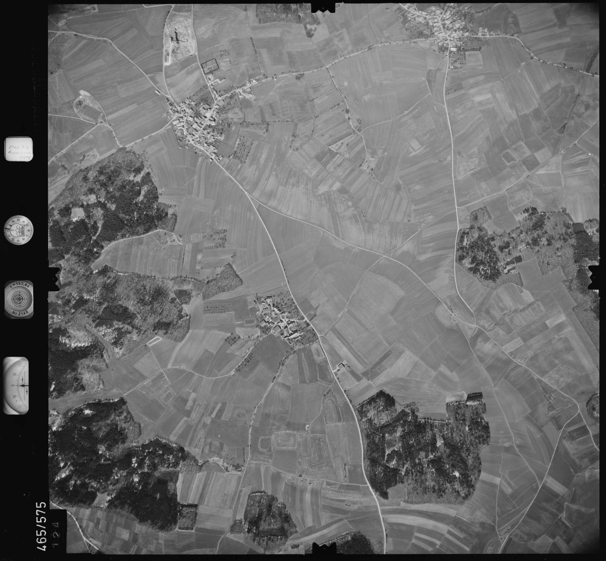 Luftbild: Film 102 Bildnr. 124, Bild 1