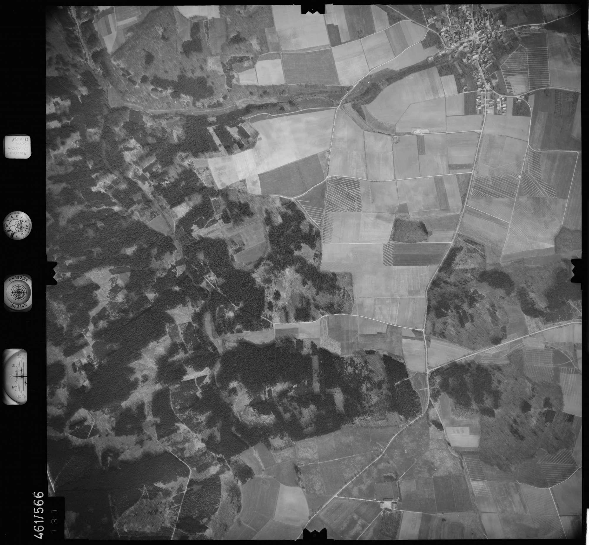 Luftbild: Film 105 Bildnr. 131, Bild 1