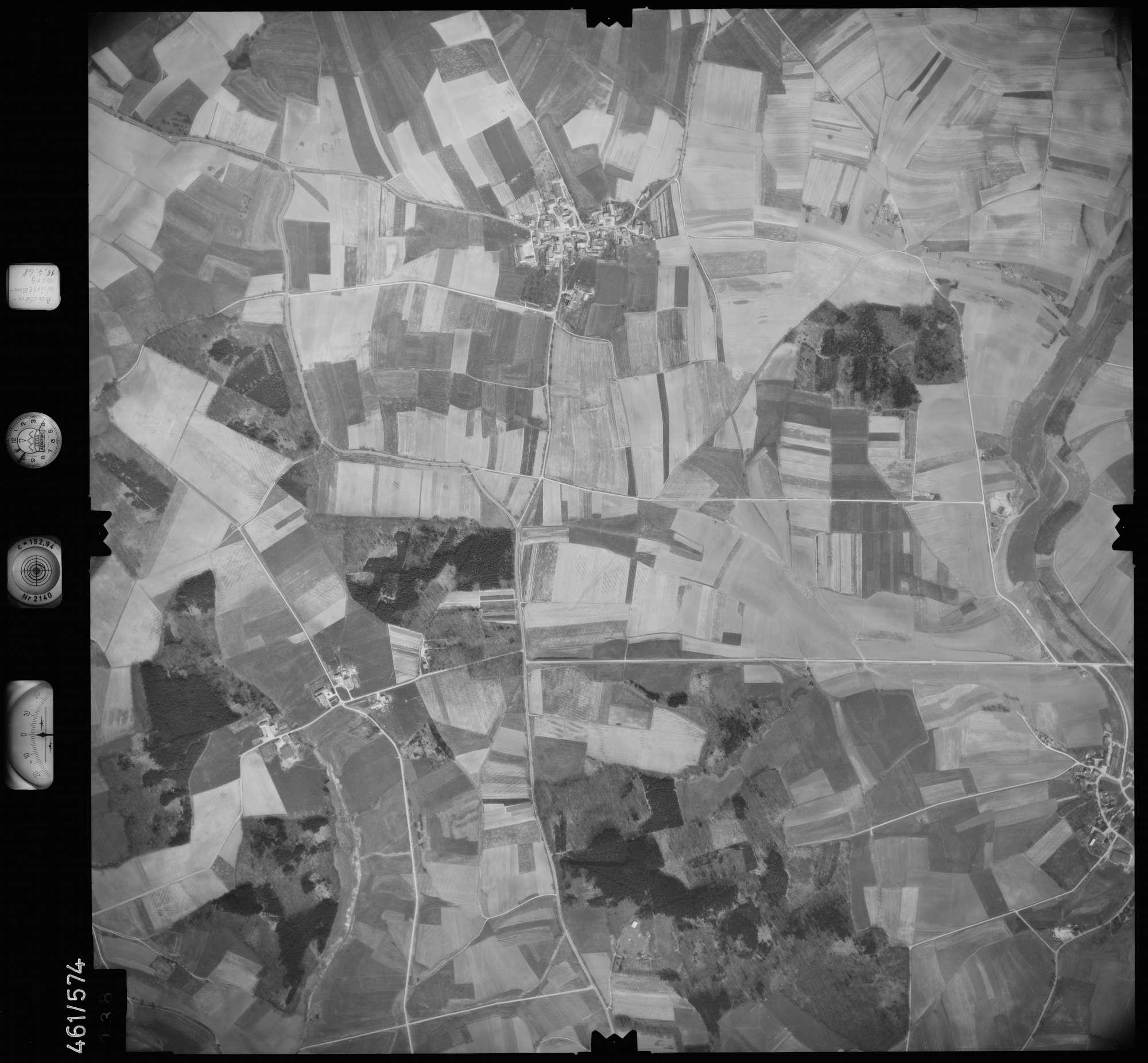 Luftbild: Film 105 Bildnr. 138, Bild 1