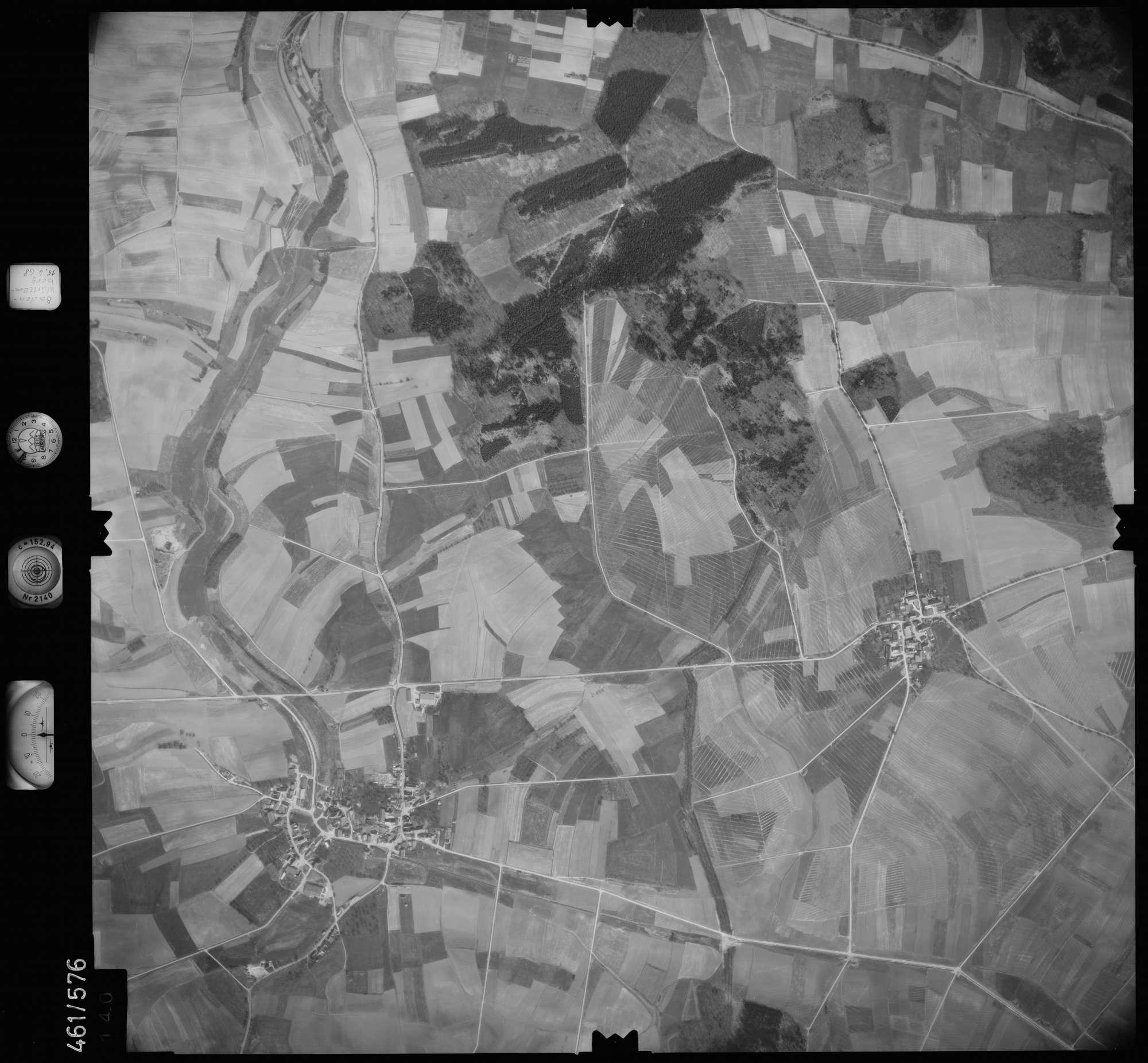 Luftbild: Film 105 Bildnr. 140, Bild 1