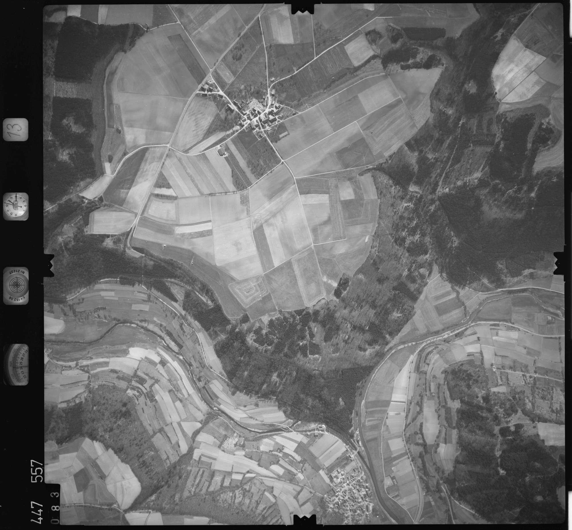 Luftbild: Film 13 Bildnr. 83, Bild 1