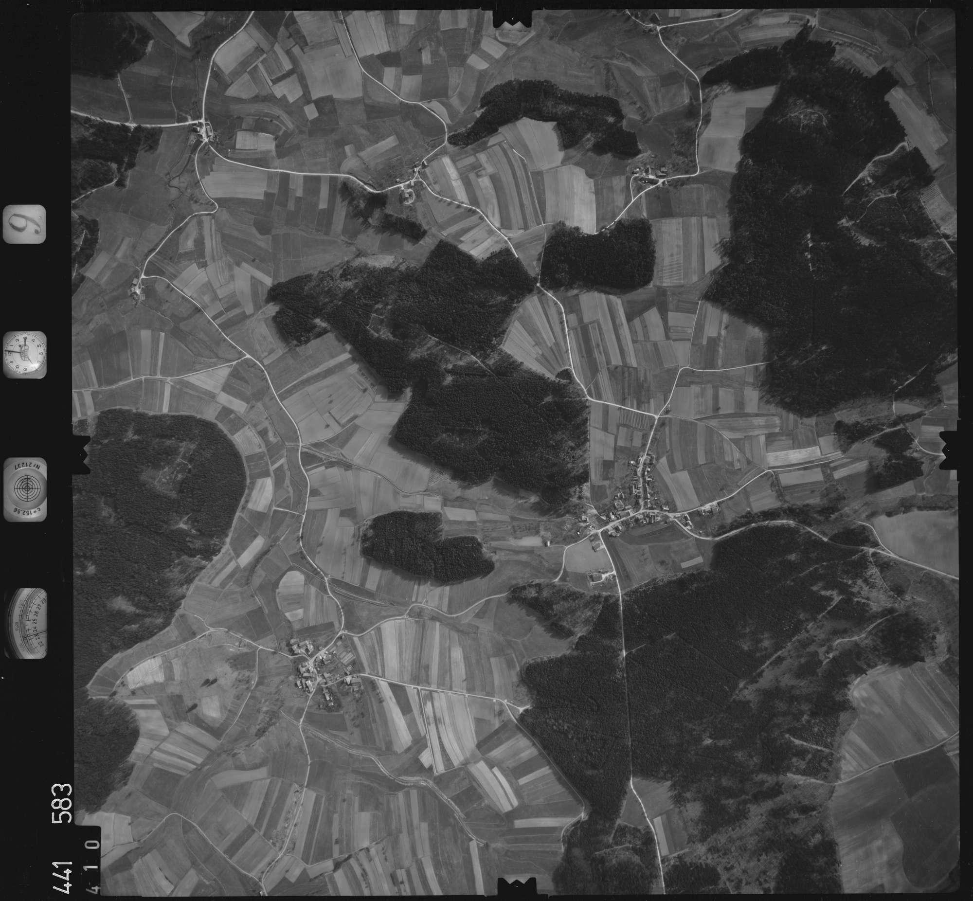 Luftbild: Film 10 Bildnr. 410, Bild 1