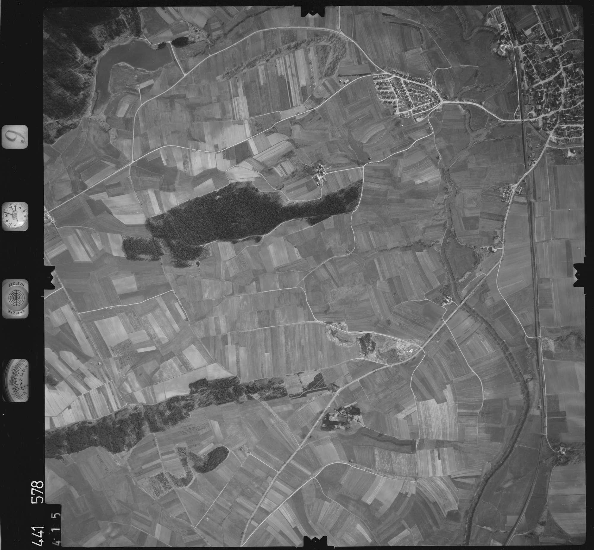 Luftbild: Film 10 Bildnr. 415, Bild 1