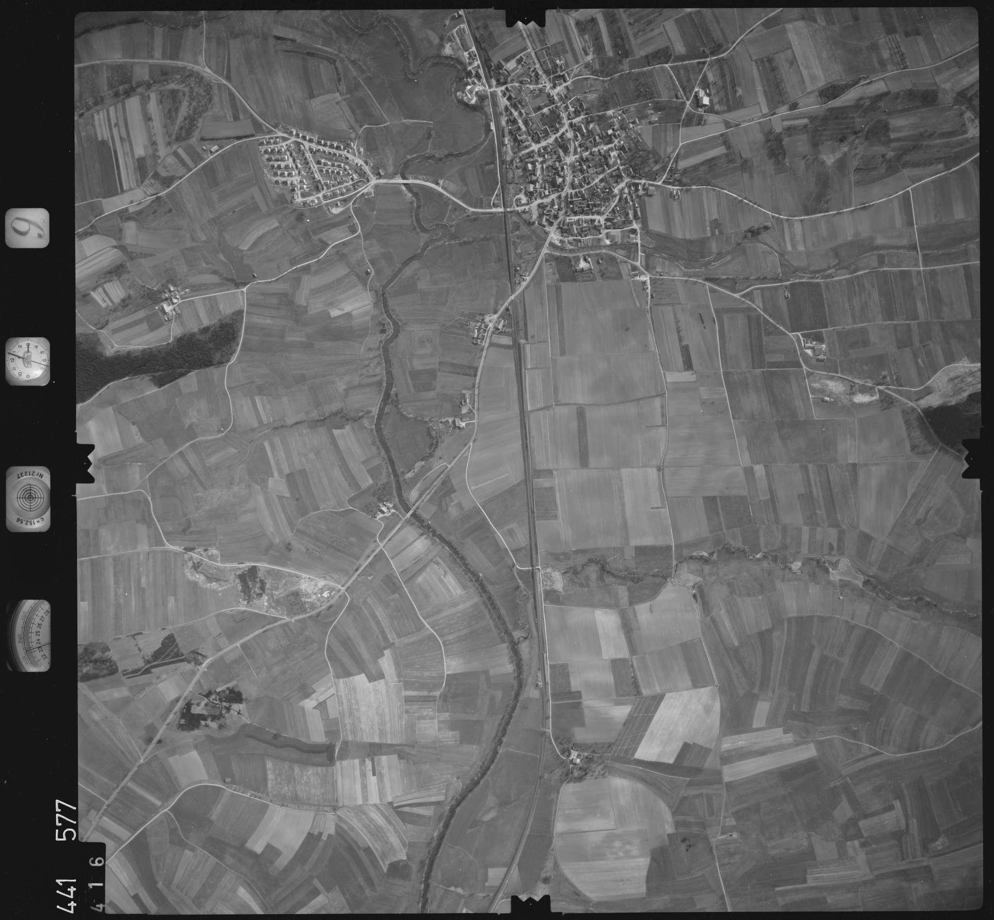 Luftbild: Film 10 Bildnr. 416, Bild 1