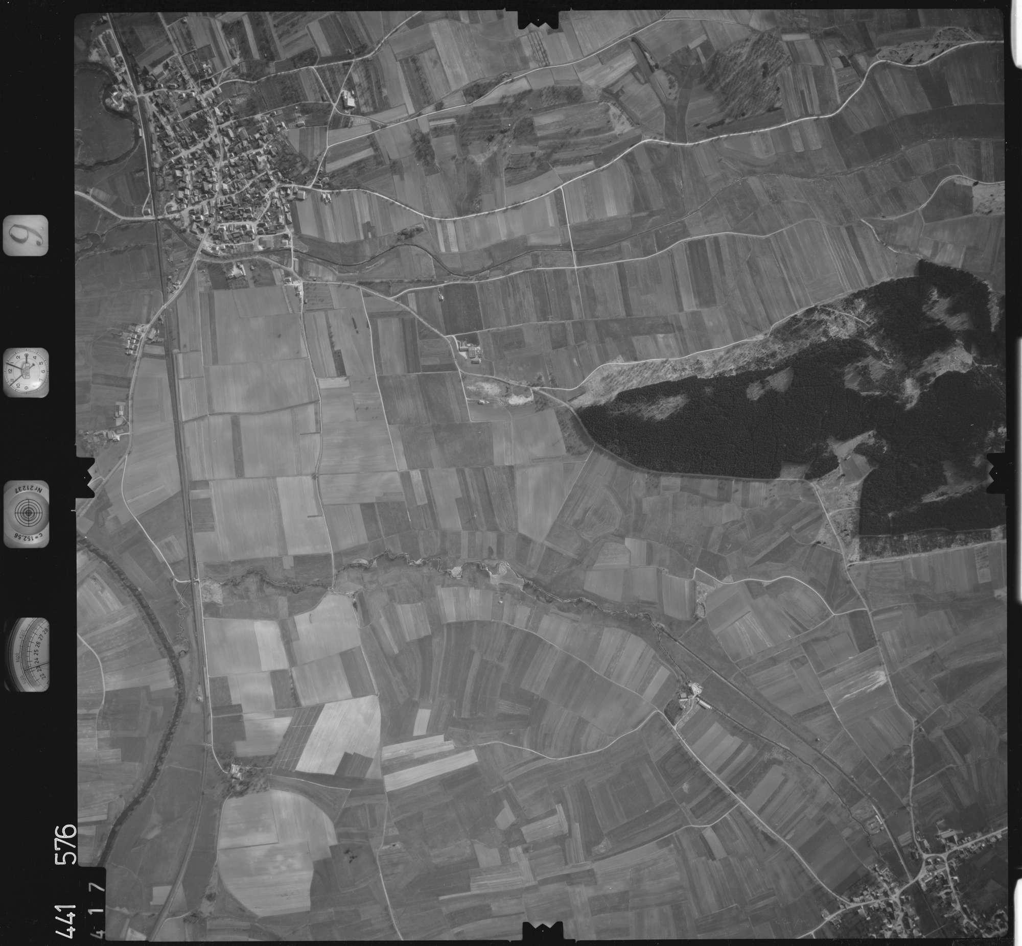 Luftbild: Film 10 Bildnr. 417, Bild 1