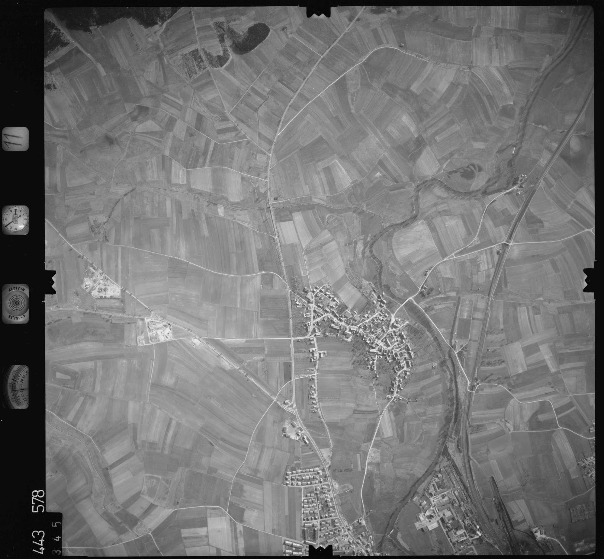 Luftbild: Film 11 Bildnr. 345, Bild 1