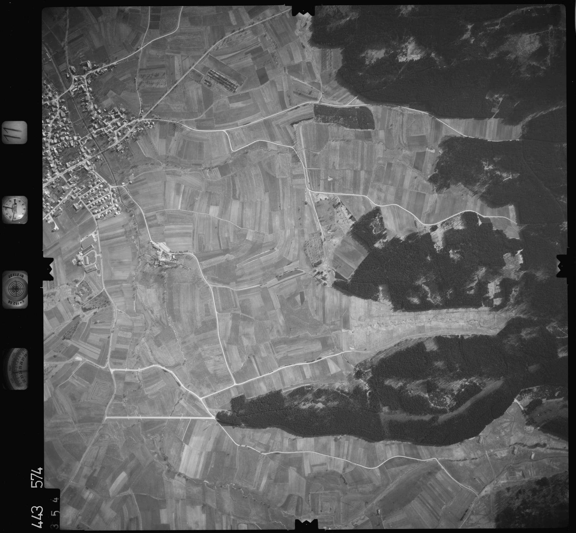Luftbild: Film 11 Bildnr. 354, Bild 1