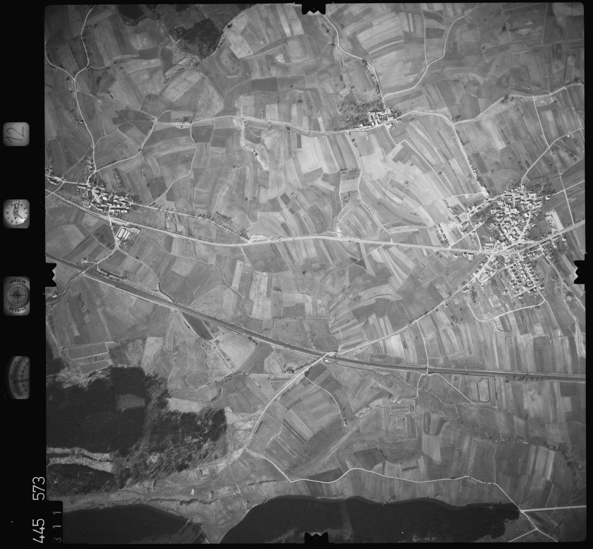 Luftbild: Film 12 Bildnr. 311, Bild 1