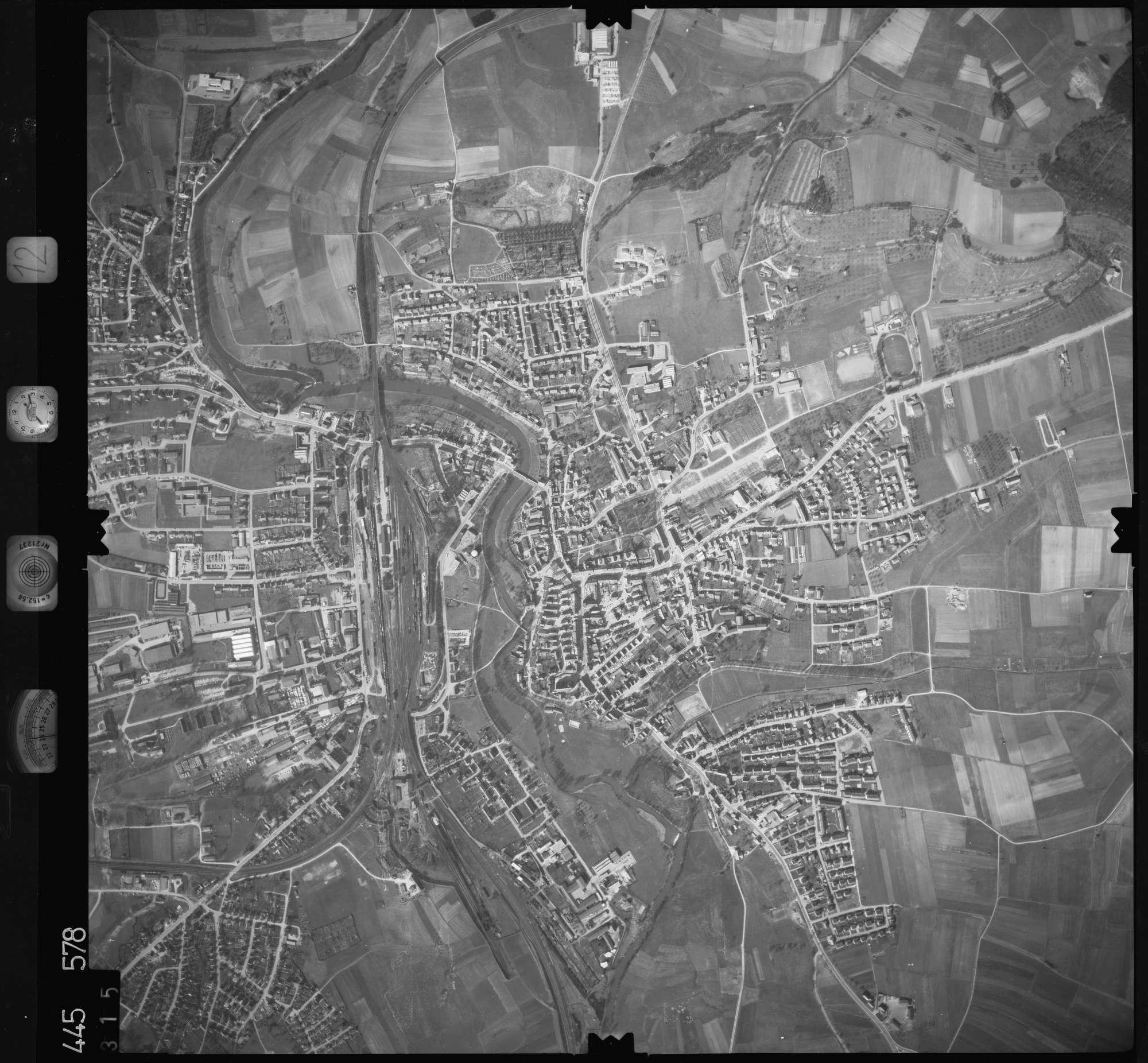 Luftbild: Film 12 Bildnr. 315, Bild 1