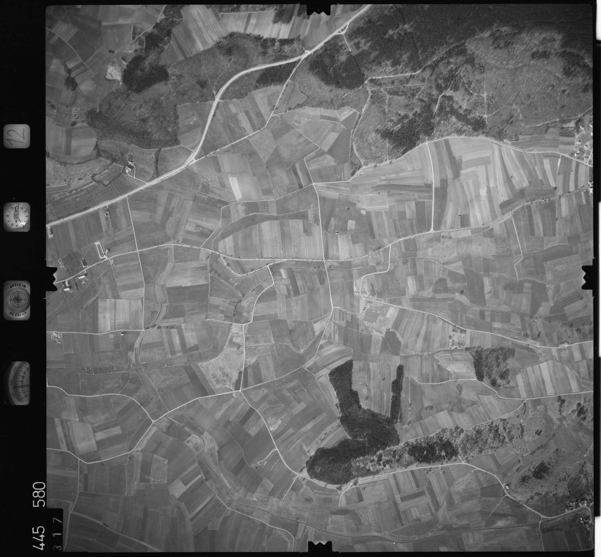 Luftbild: Film 12 Bildnr. 317, Bild 1