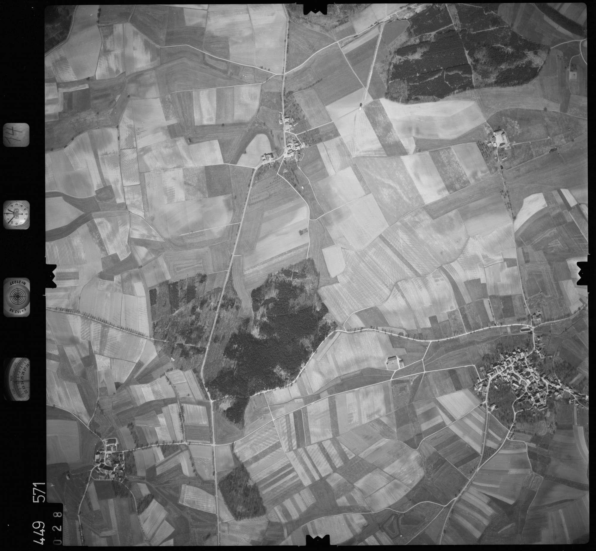 Luftbild: Film 14 Bildnr. 28, Bild 1