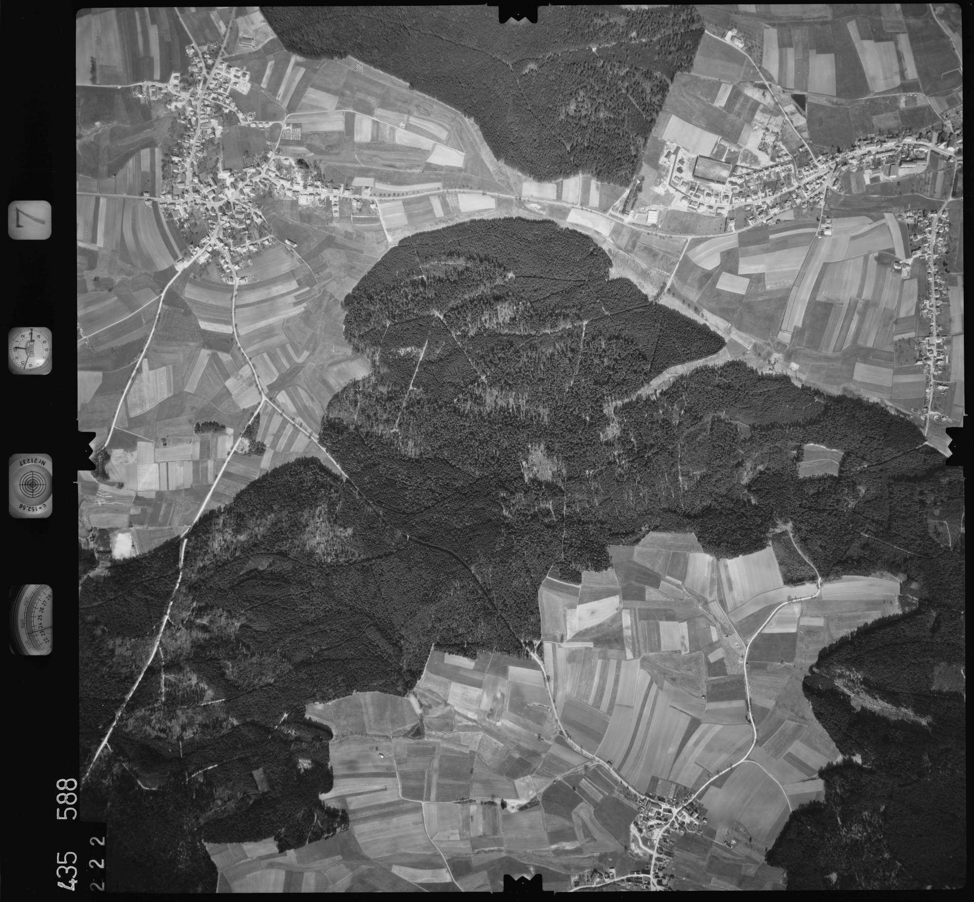 Luftbild: Film 7 Bildnr. 222, Bild 1