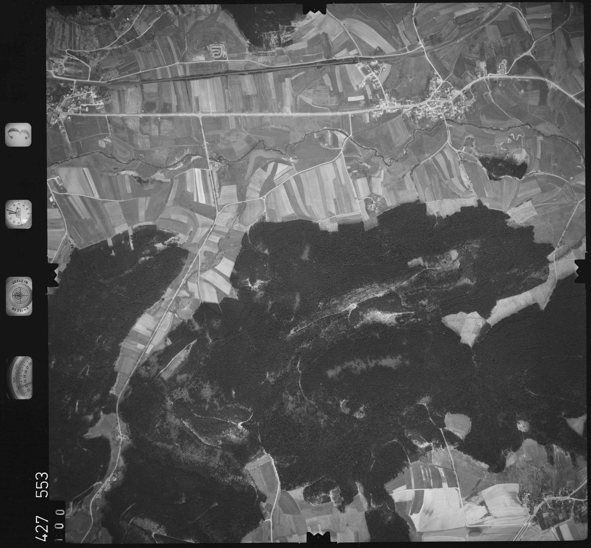 Luftbild: Film 3 Bildnr. 100, Bild 1
