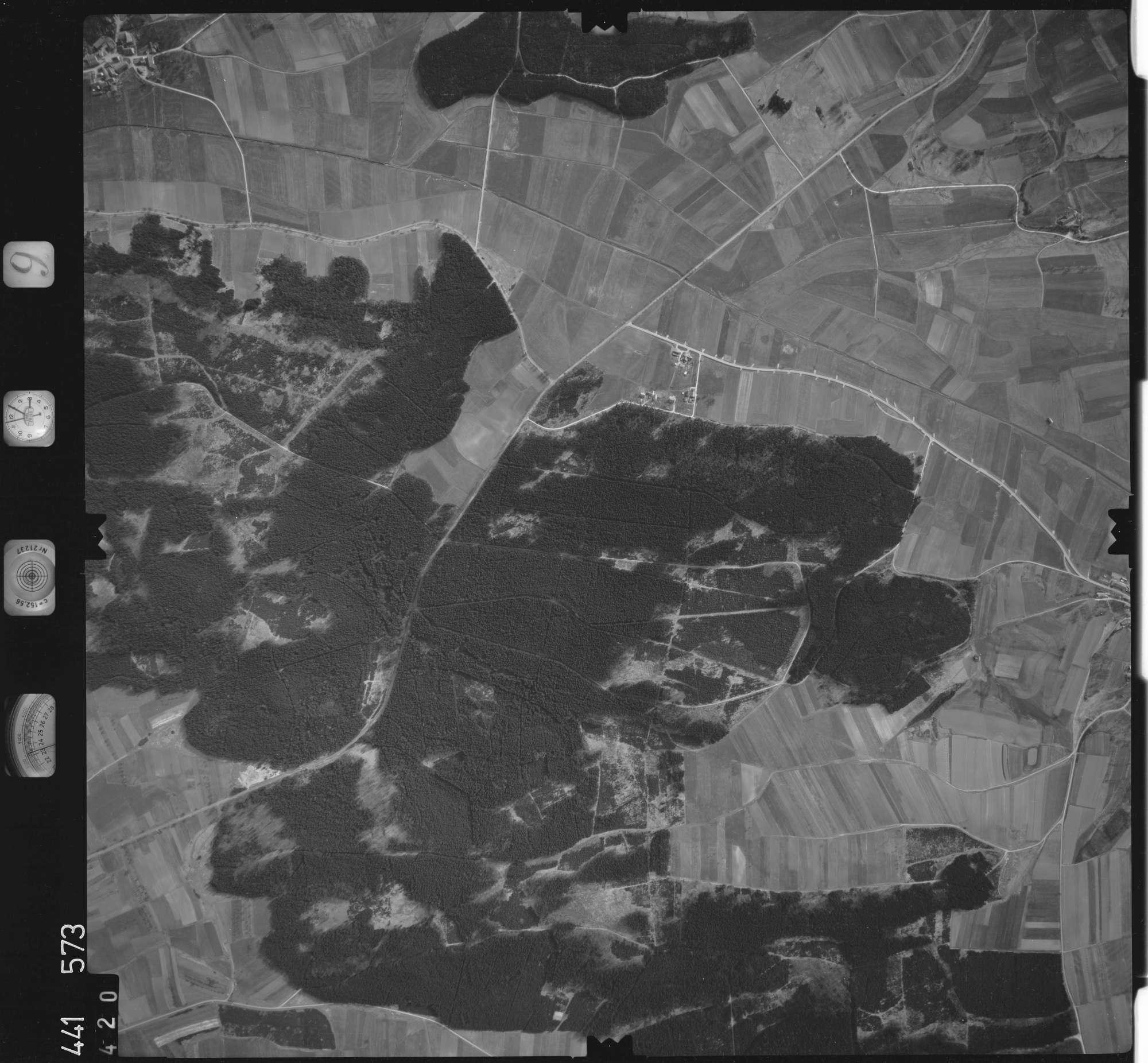 Luftbild: Film 10 Bildnr. 420, Bild 1