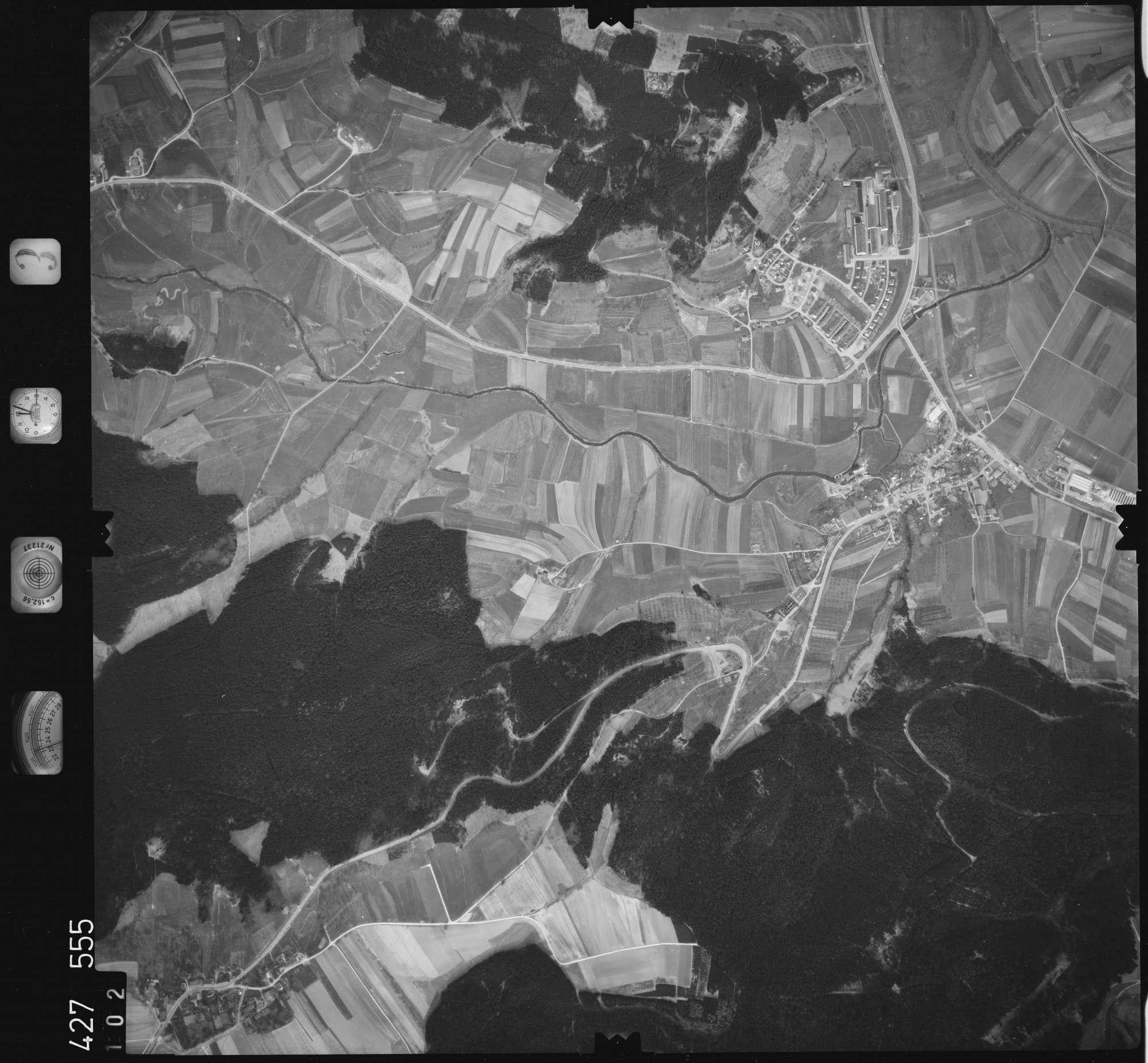 Luftbild: Film 3 Bildnr. 102, Bild 1
