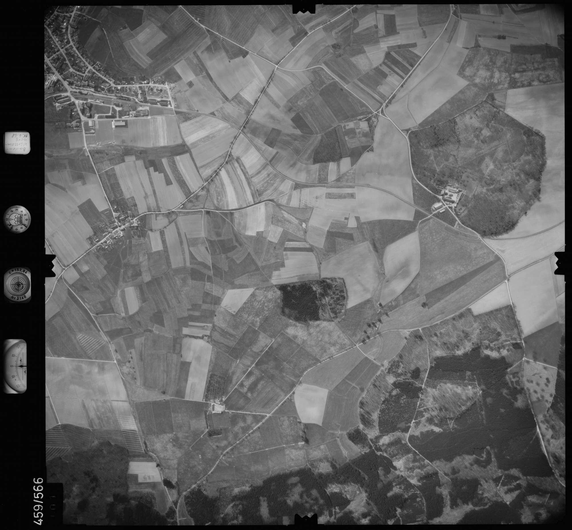 Luftbild: Film 105 Bildnr. 101, Bild 1