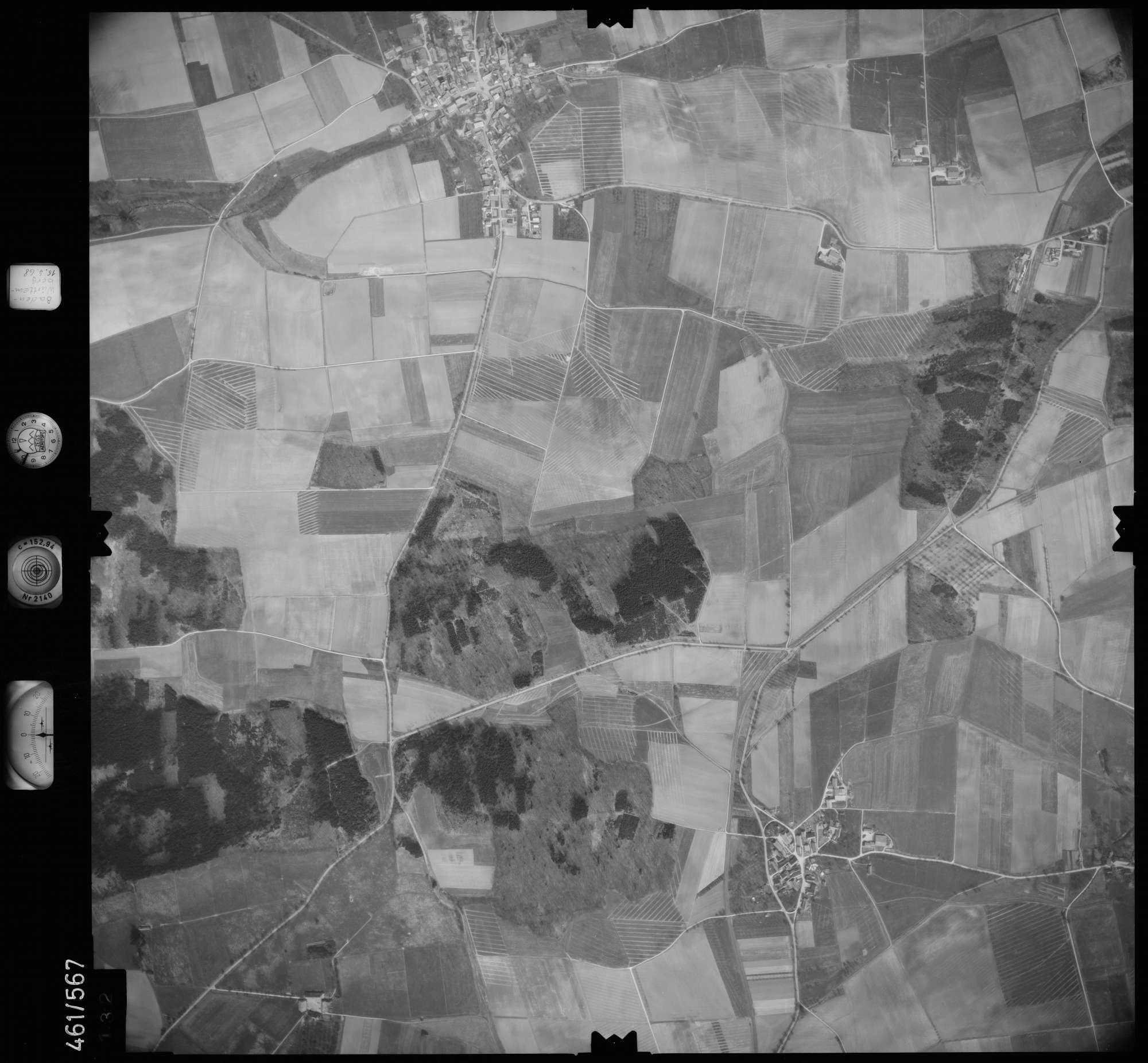 Luftbild: Film 105 Bildnr. 132, Bild 1