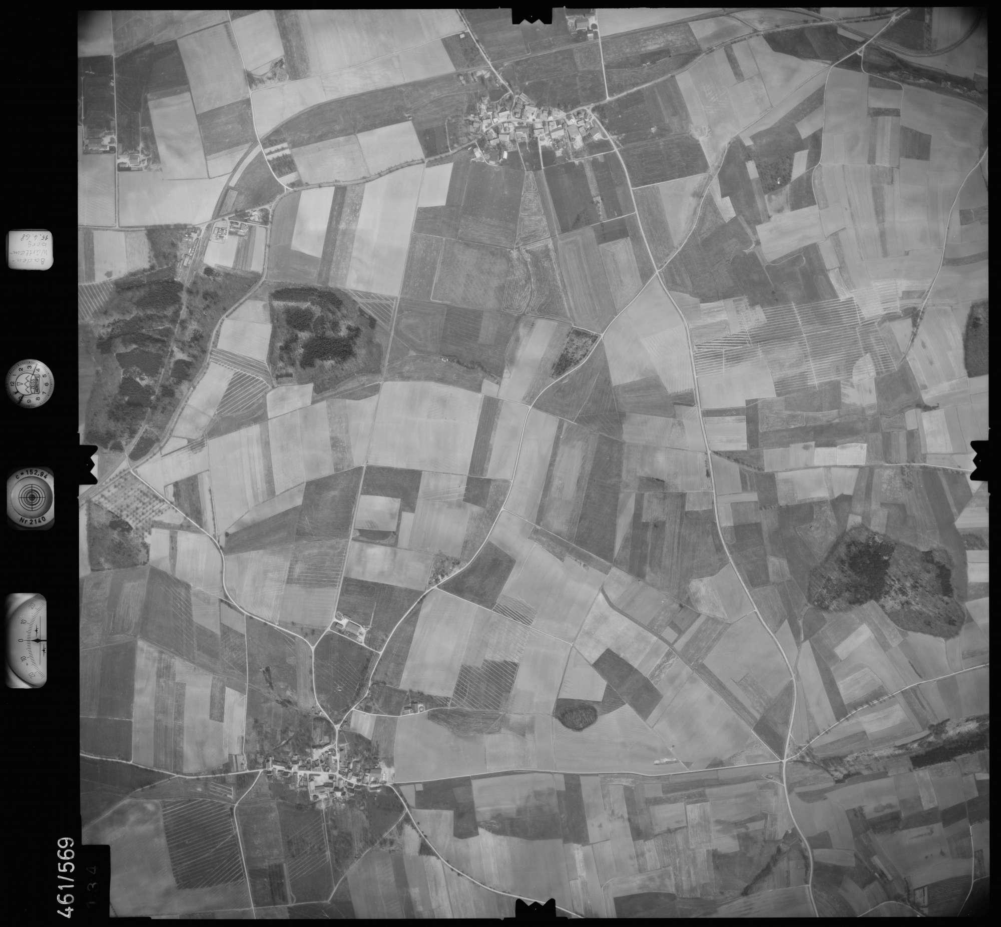 Luftbild: Film 105 Bildnr. 134, Bild 1
