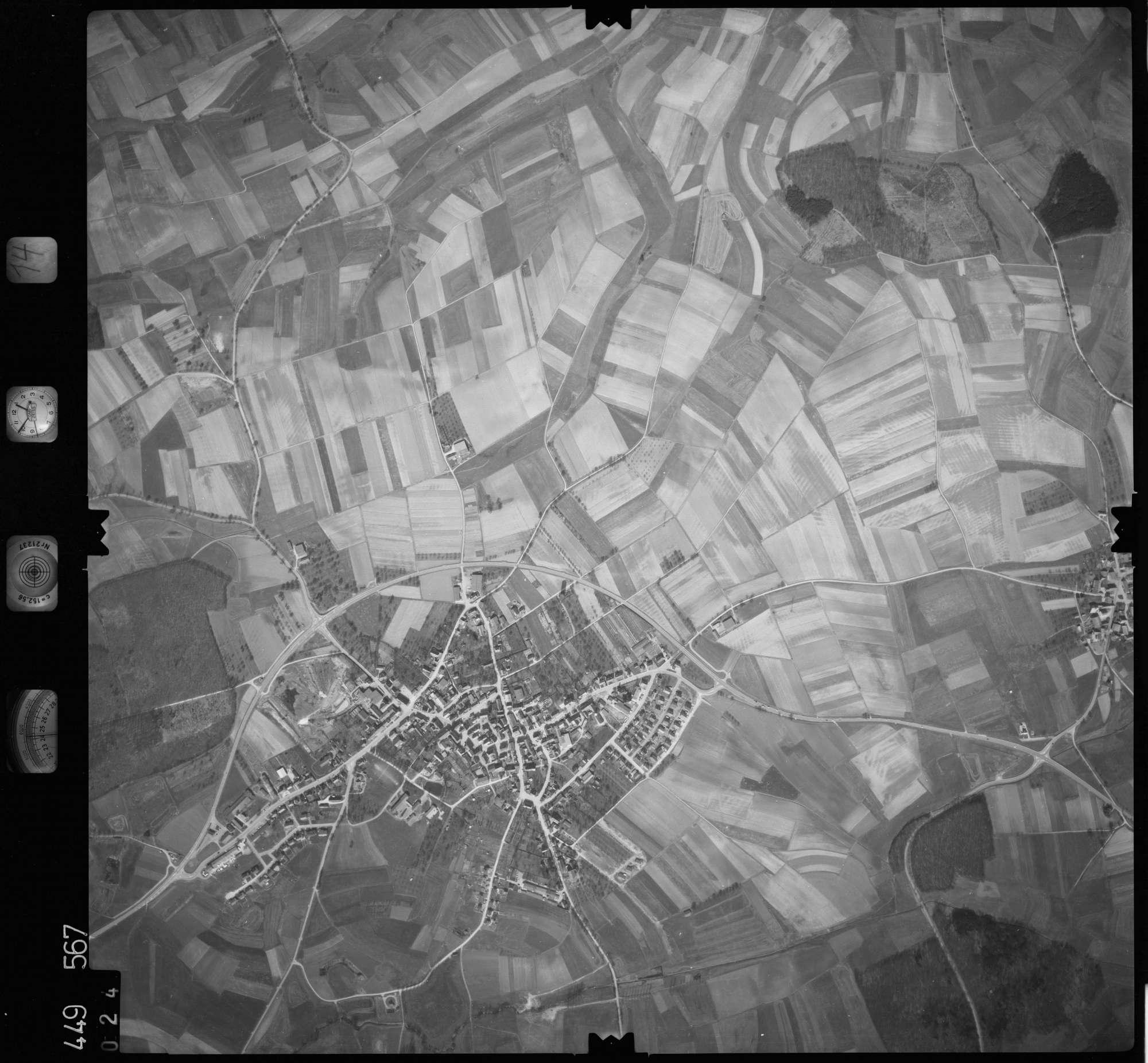 Luftbild: Film 14 Bildnr. 24, Bild 1