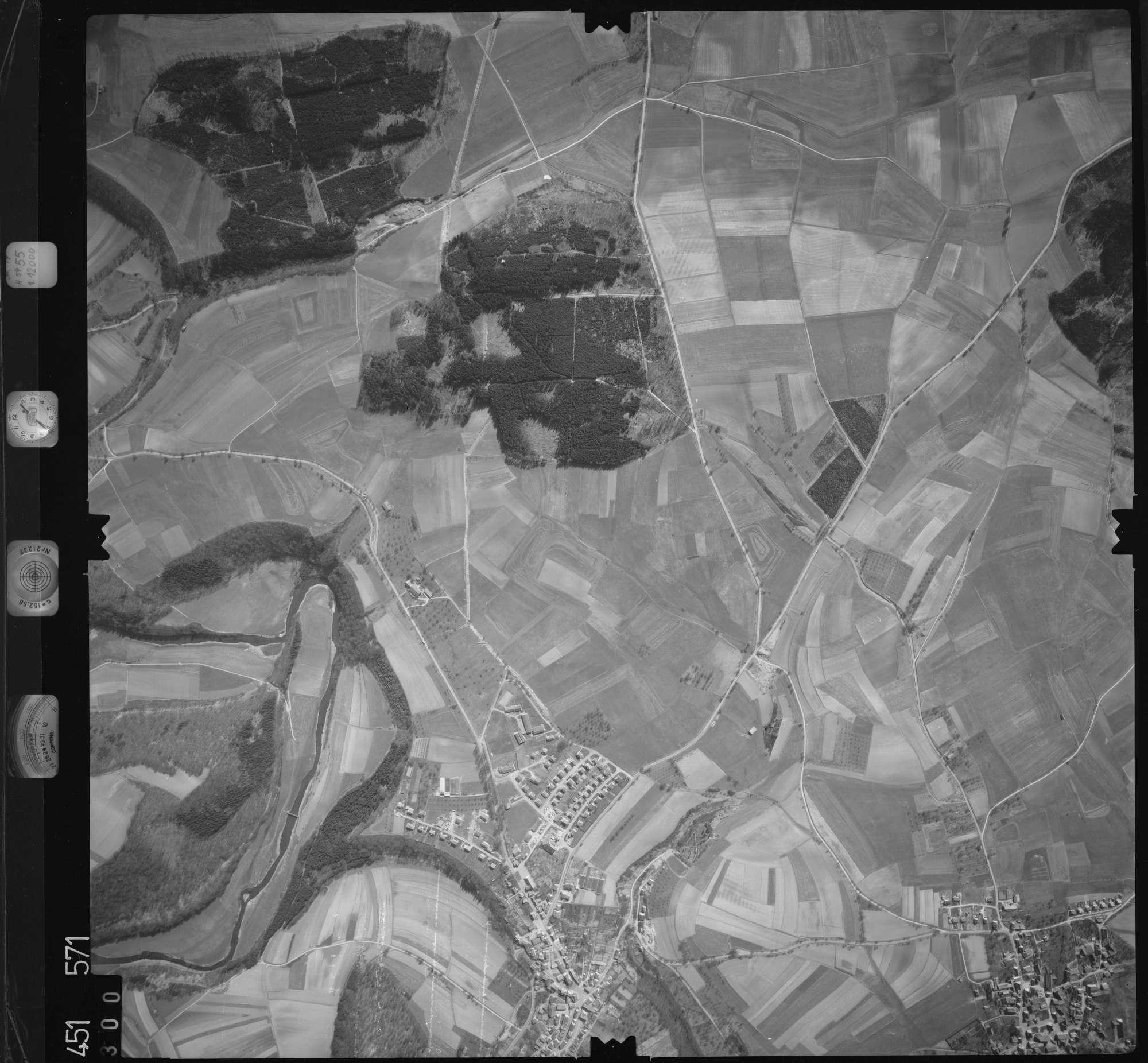 Luftbild: Film 15 Bildnr. 300, Bild 1