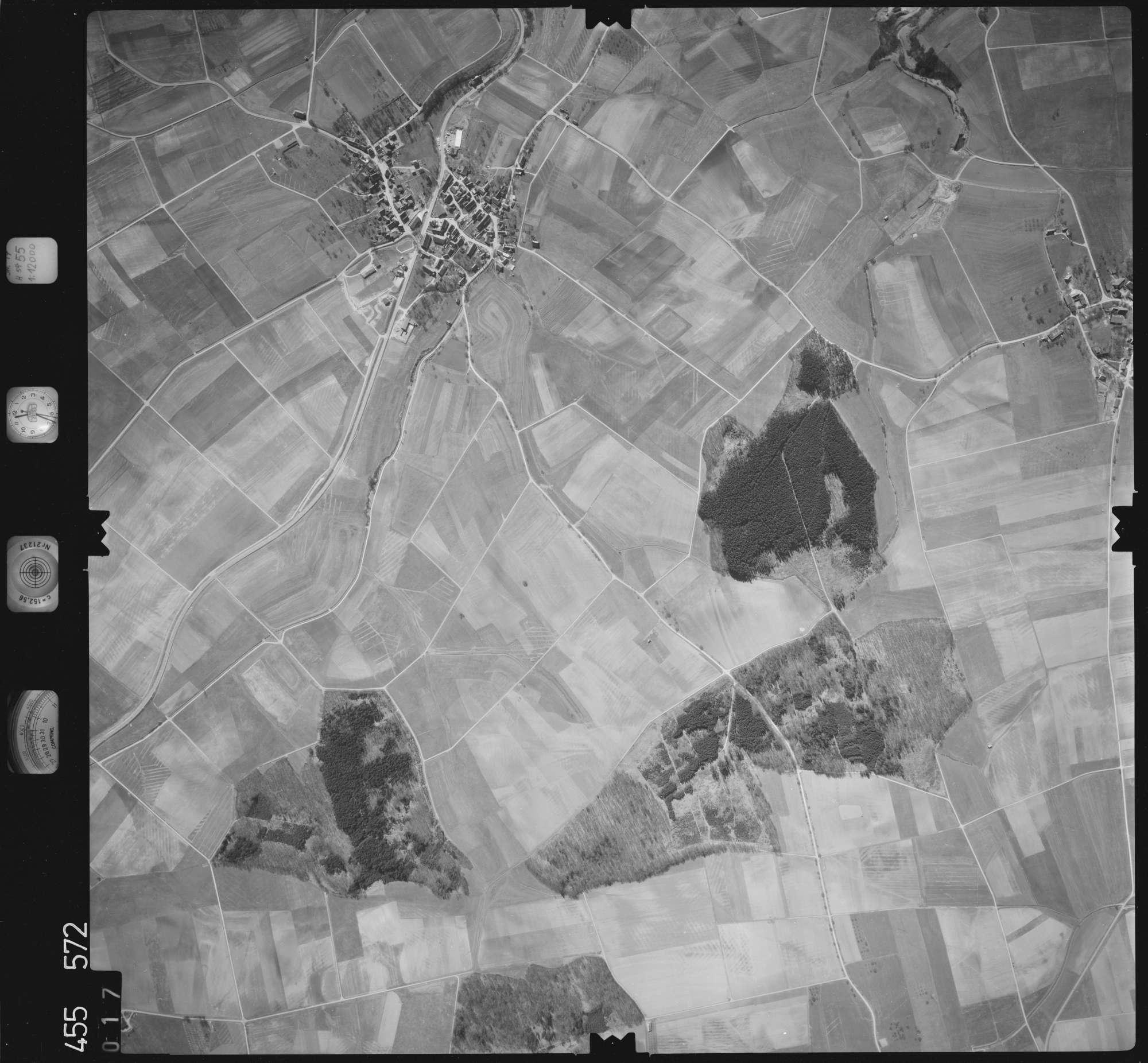 Luftbild: Film 17 Bildnr. 17, Bild 1