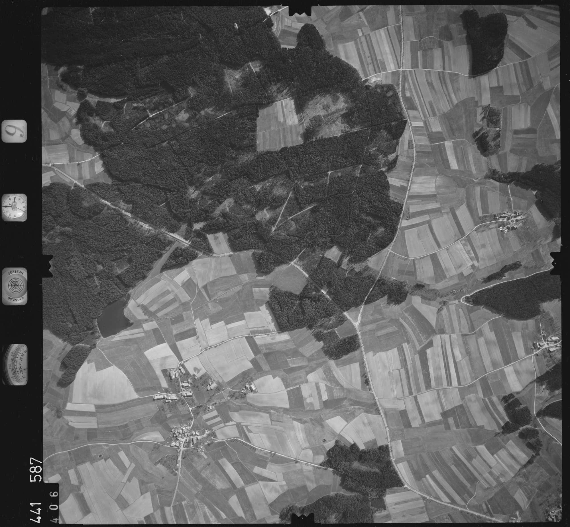 Luftbild: Film 10 Bildnr. 406, Bild 1