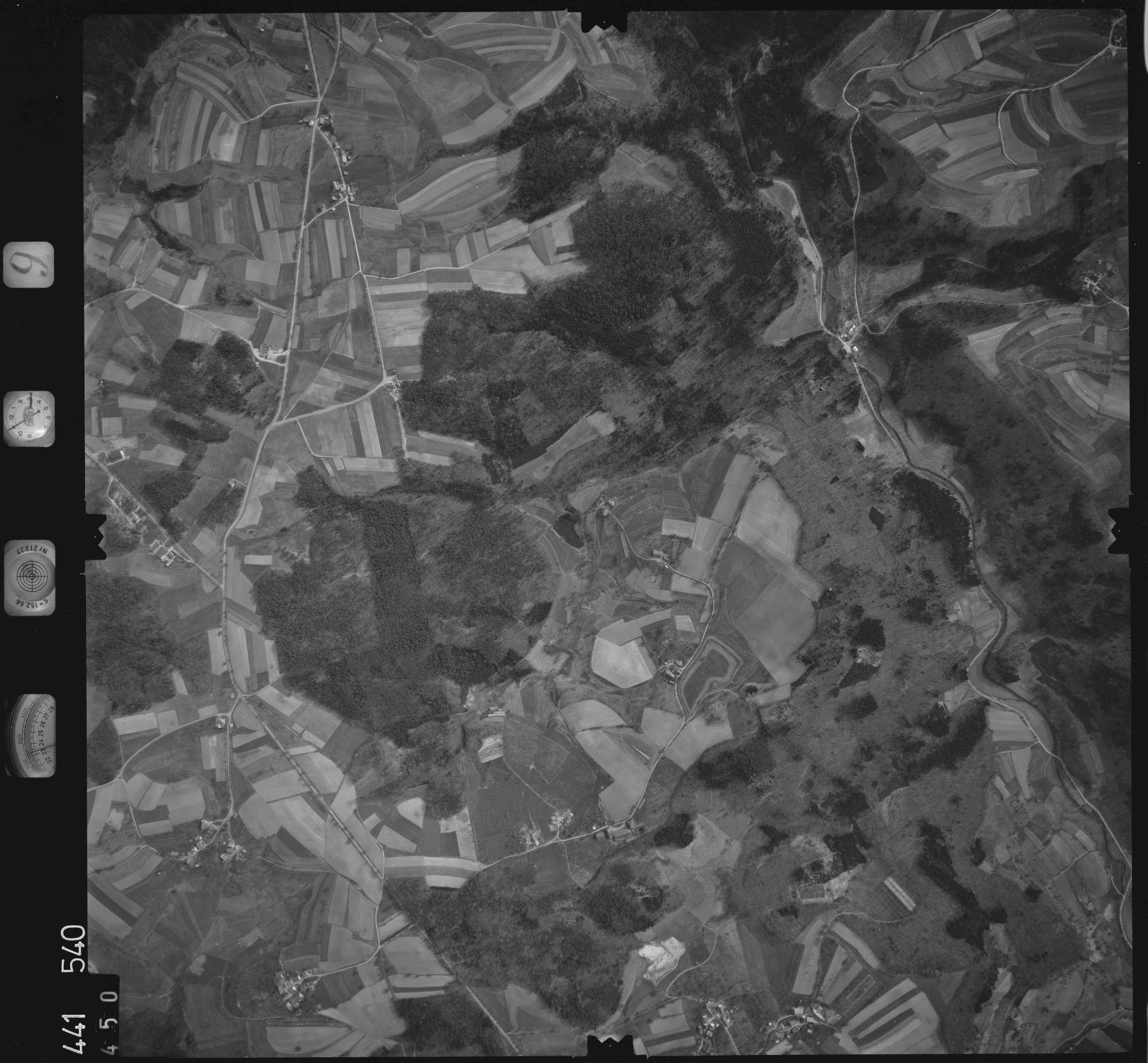 Luftbild: Film 10 Bildnr. 450, Bild 1