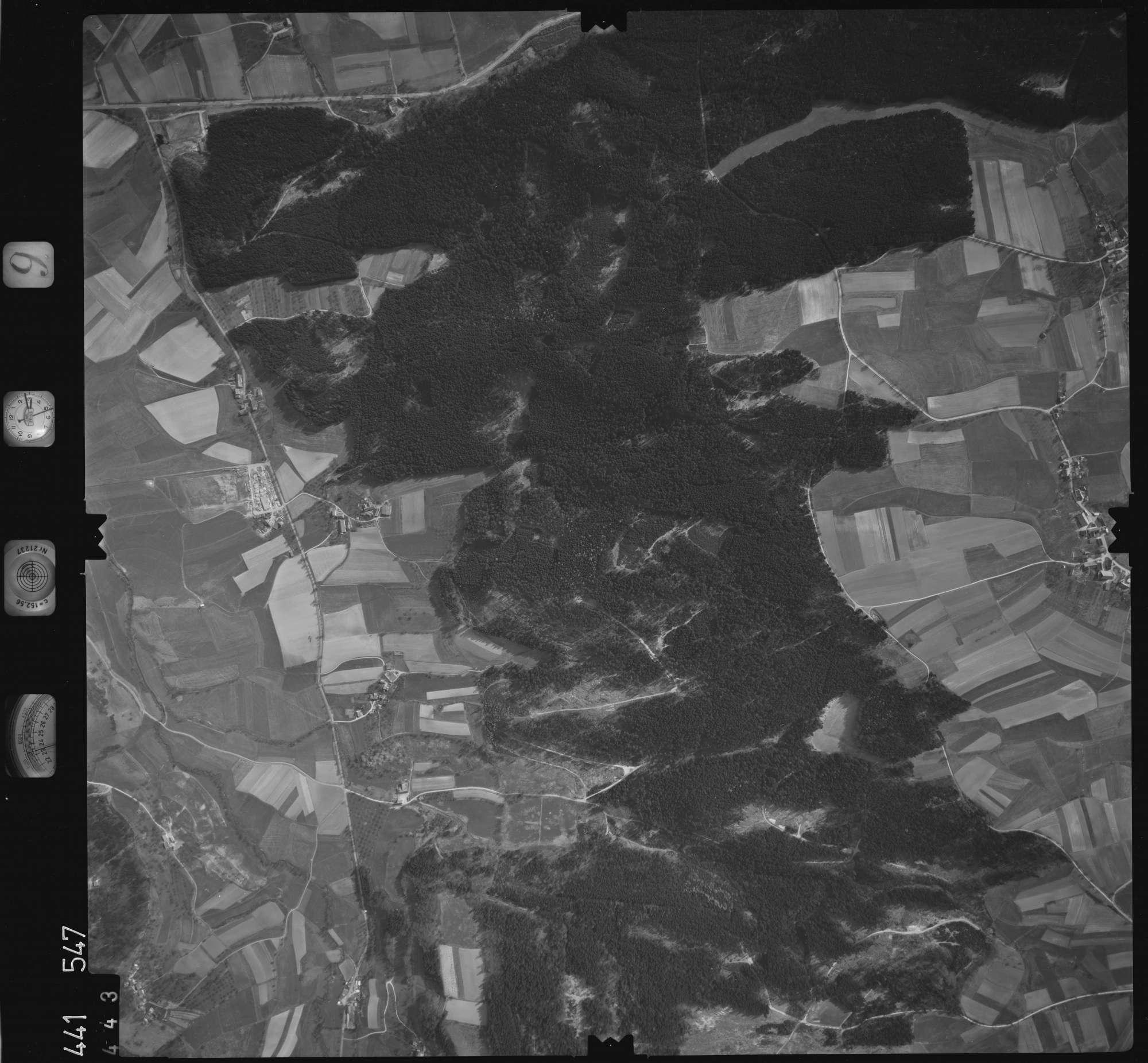 Luftbild: Film 10 Bildnr. 443, Bild 1