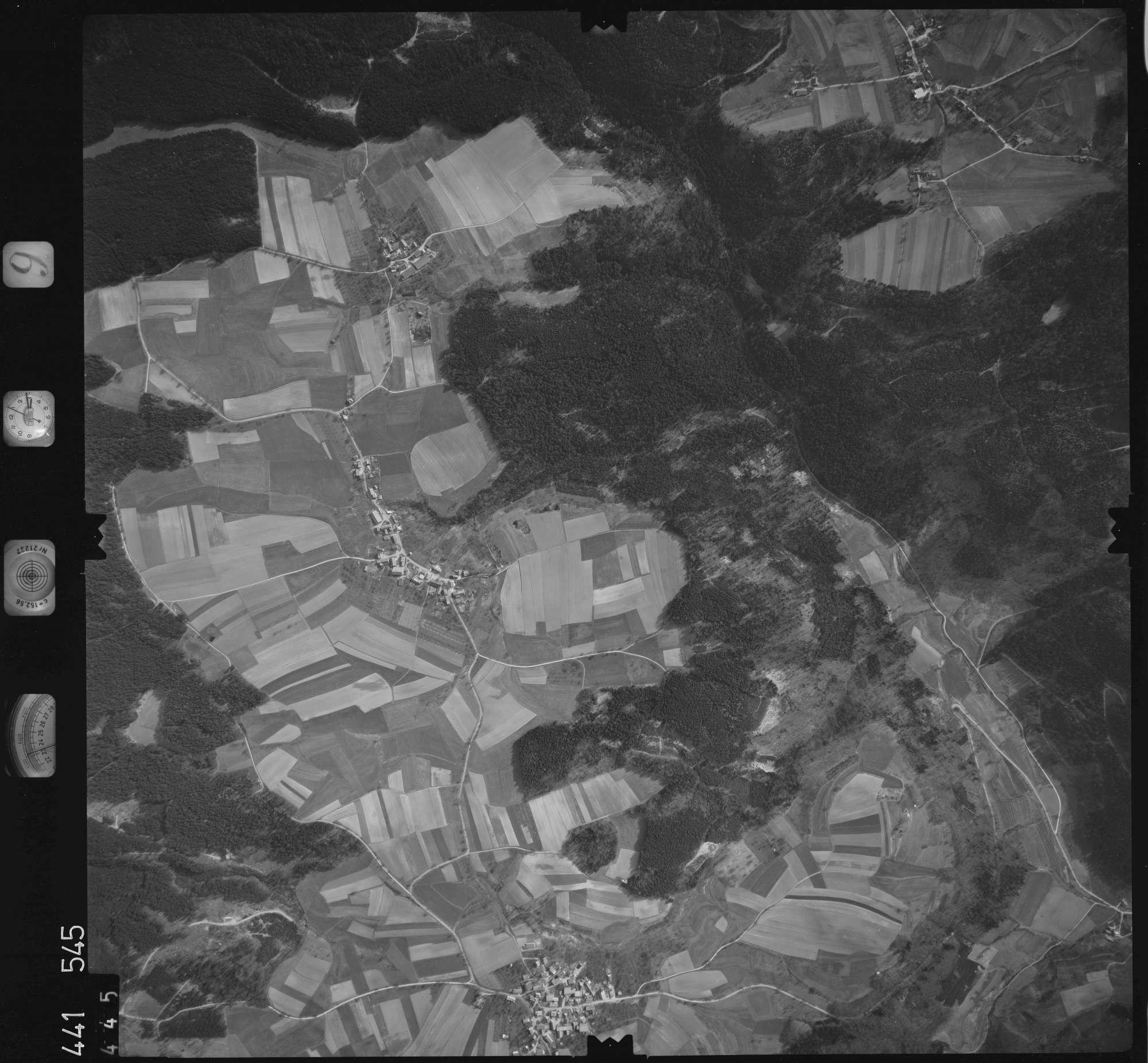 Luftbild: Film 10 Bildnr. 445, Bild 1