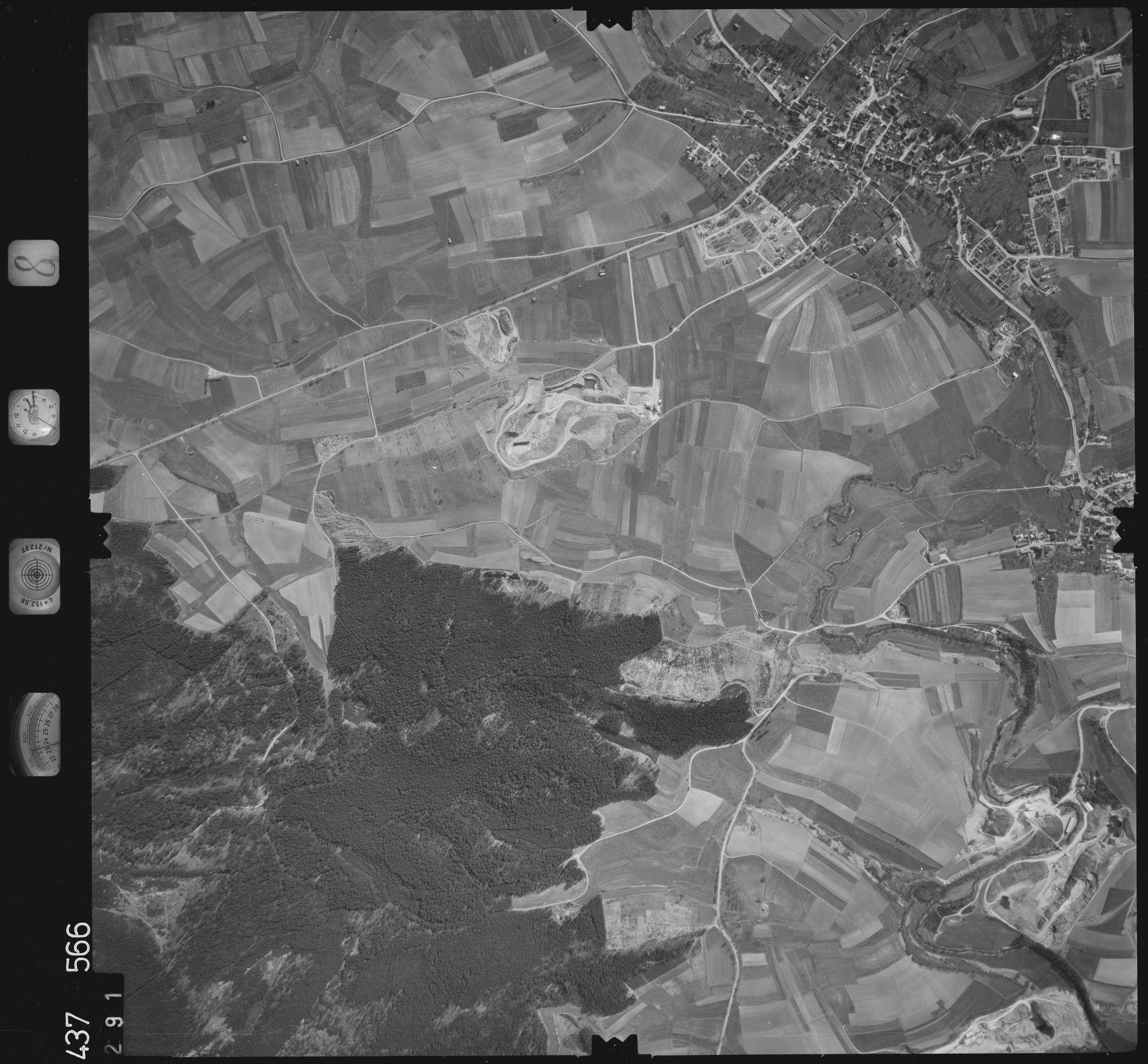 Luftbild: Film 8 Bildnr. 291, Bild 1