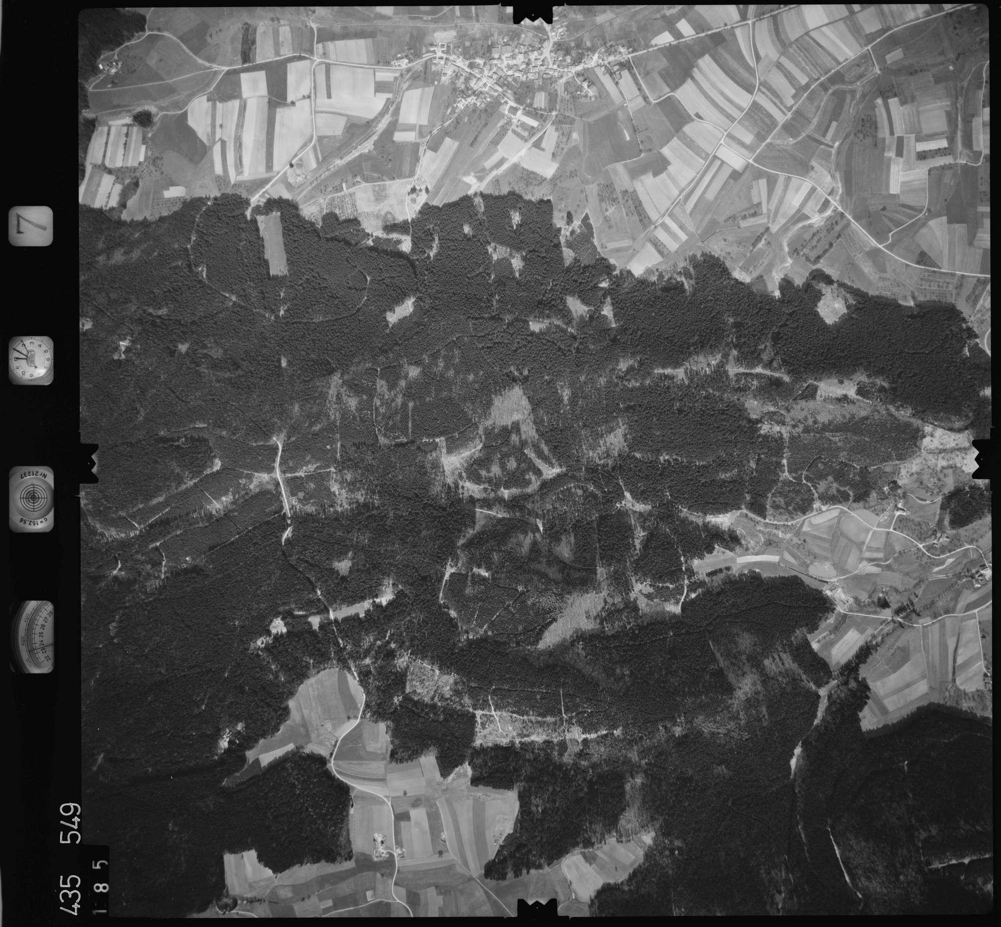 Luftbild: Film 7 Bildnr. 185, Bild 1