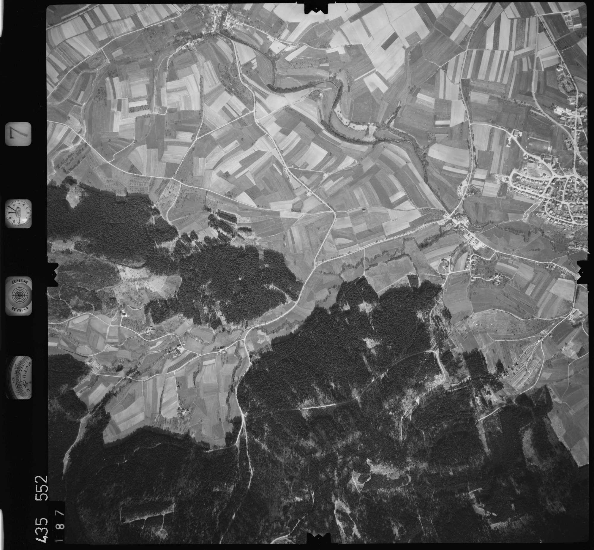 Luftbild: Film 7 Bildnr. 187, Bild 1
