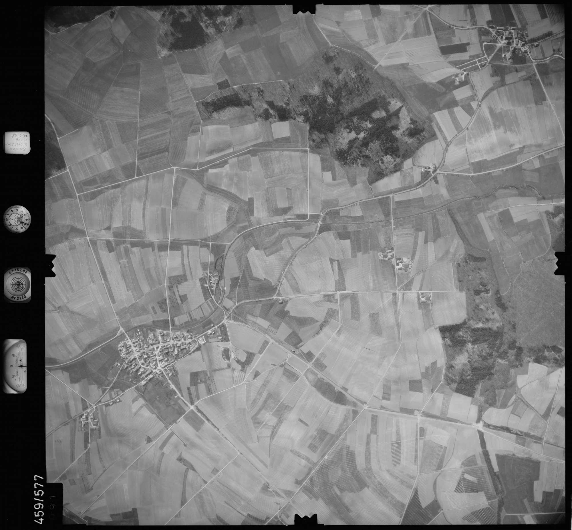 Luftbild: Film 105 Bildnr. 91, Bild 1