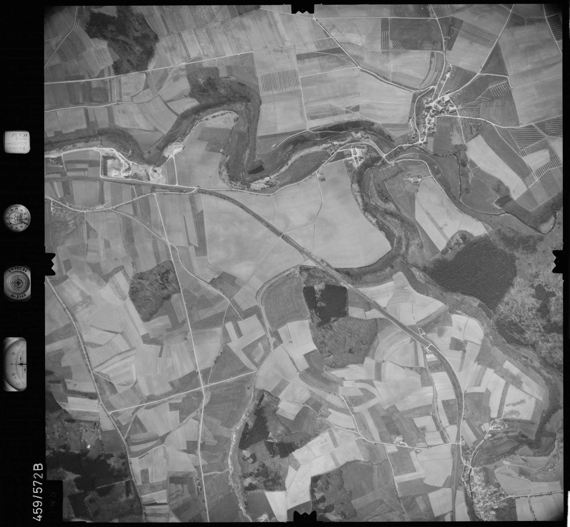 Luftbild: Film 105 Bildnr. 95, Bild 1