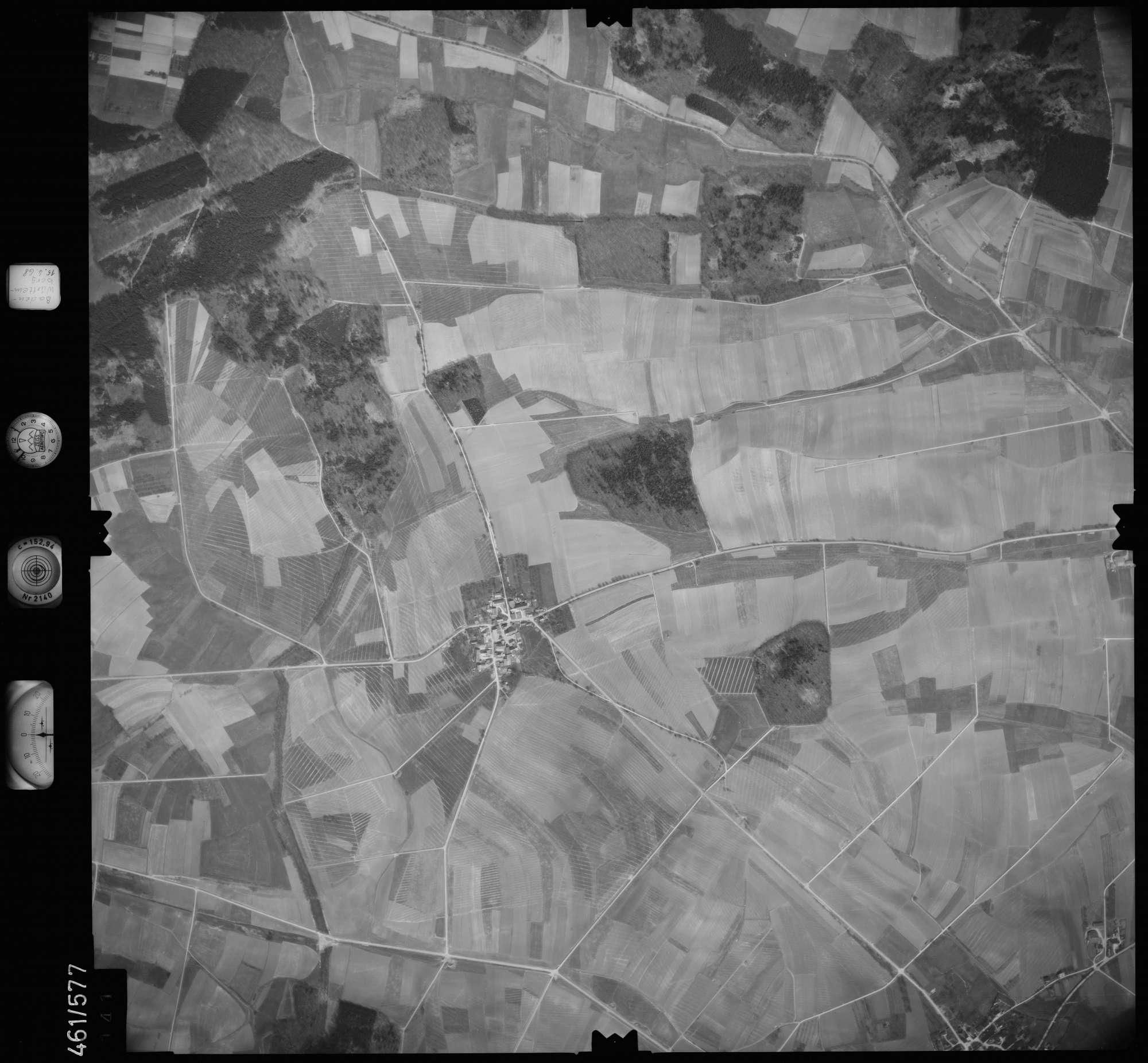 Luftbild: Film 105 Bildnr. 141, Bild 1