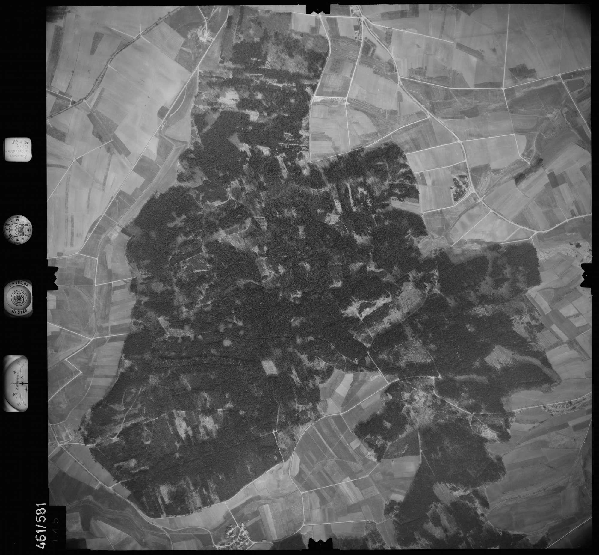 Luftbild: Film 105 Bildnr. 145, Bild 1