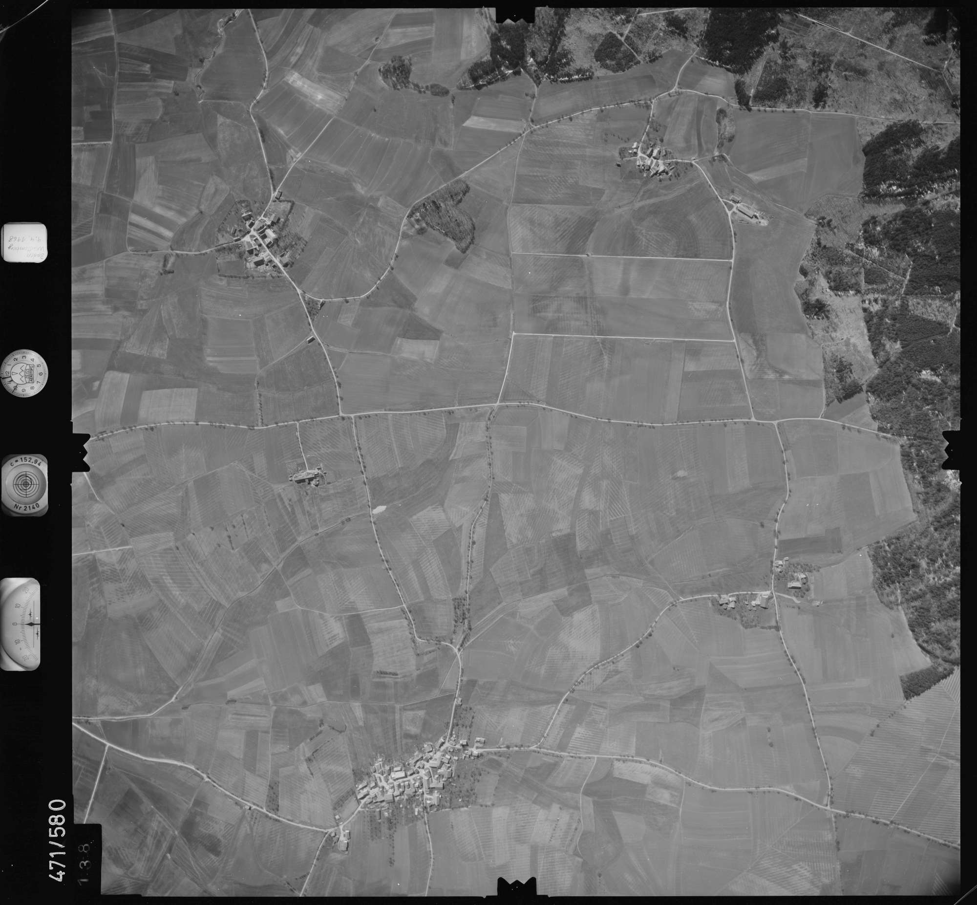 Luftbild: Film 100 Bildnr. 138, Bild 1