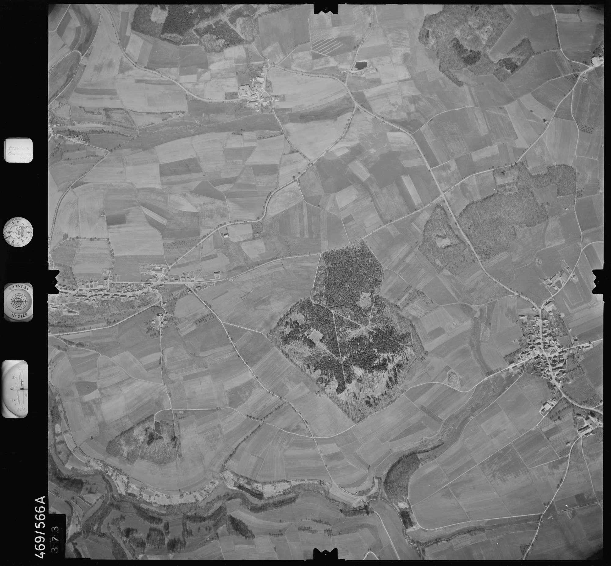 Luftbild: Film 101 Bildnr. 373, Bild 1