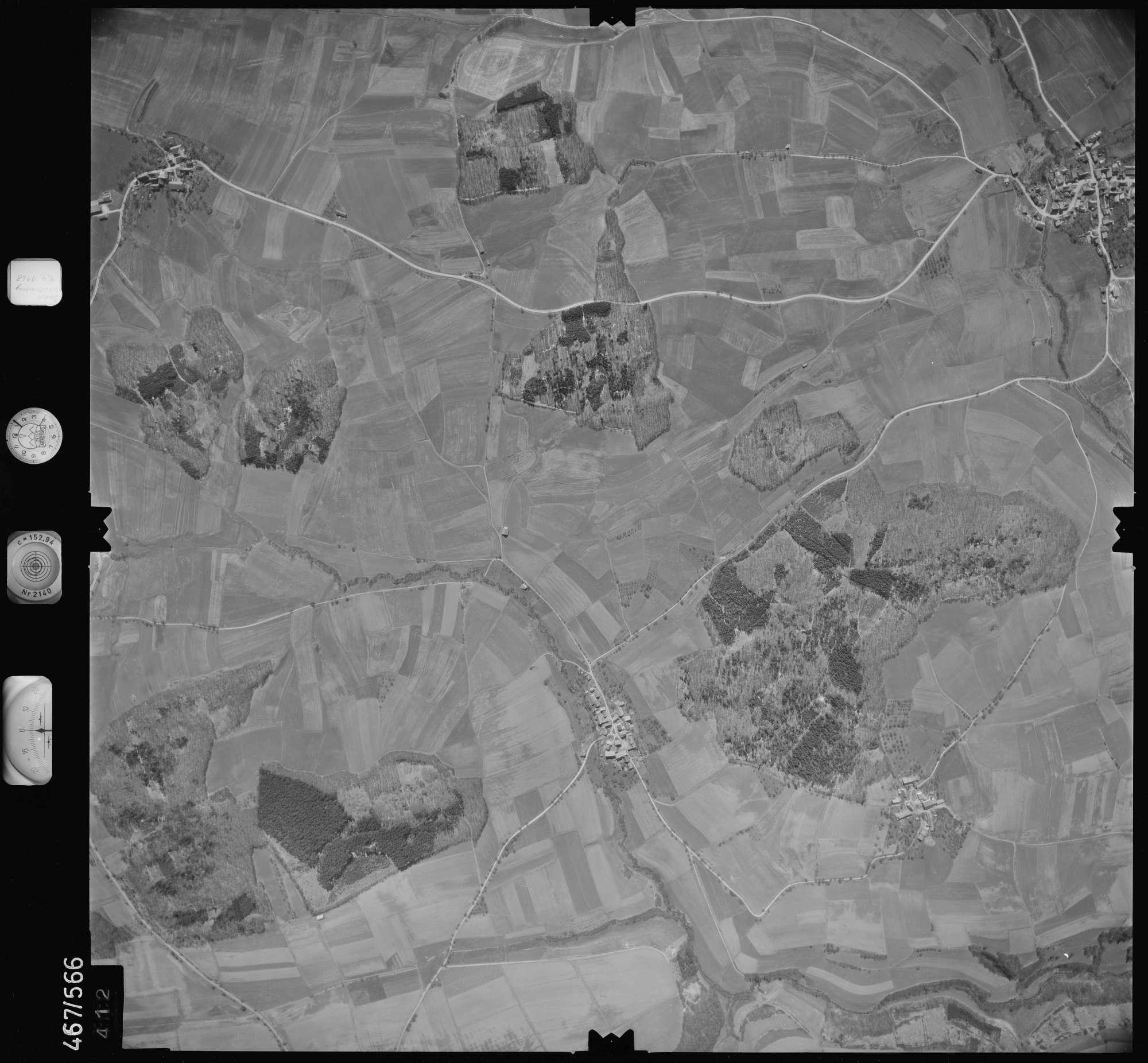 Luftbild: Film 101 Bildnr. 412, Bild 1