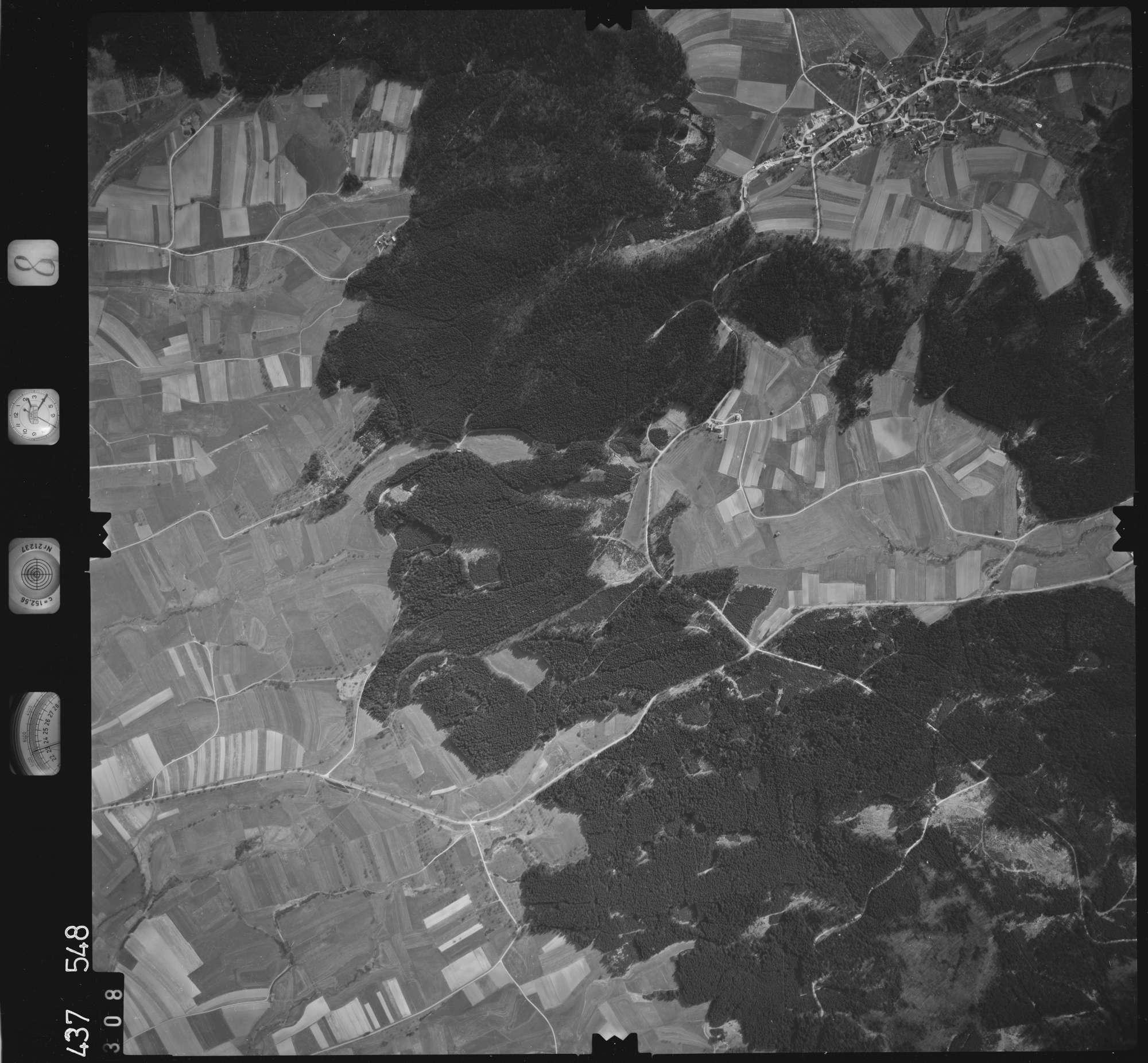Luftbild: Film 8 Bildnr. 308, Bild 1