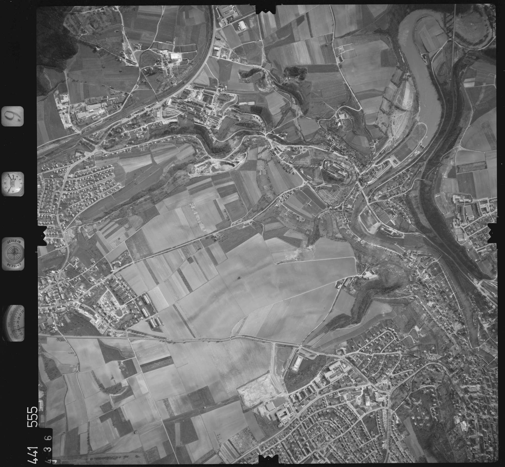Luftbild: Film 10 Bildnr. 436, Bild 1