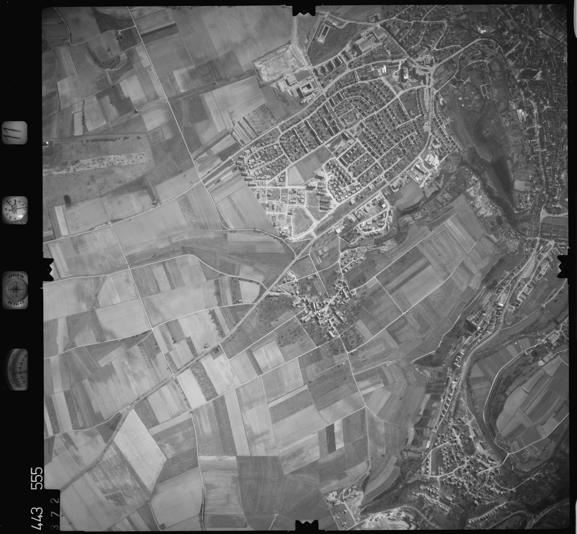 Luftbild: Film 11 Bildnr. 372, Bild 1