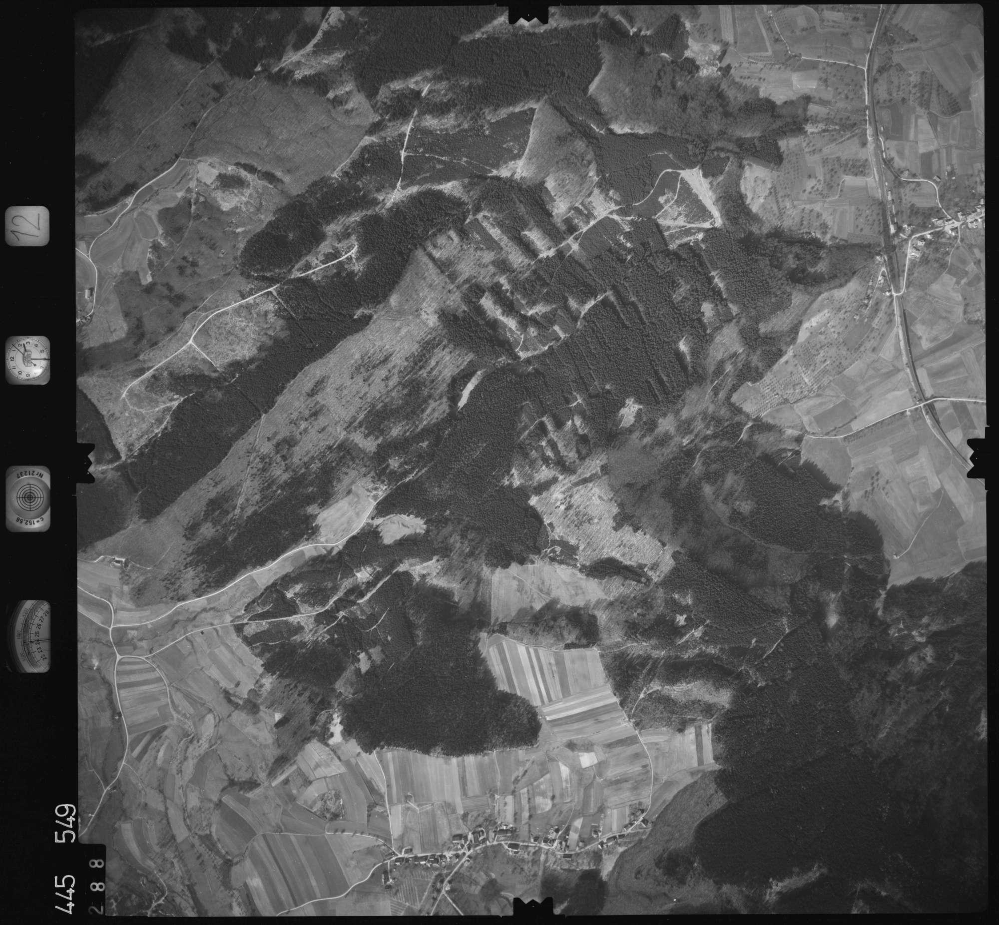 Luftbild: Film 12 Bildnr. 288, Bild 1